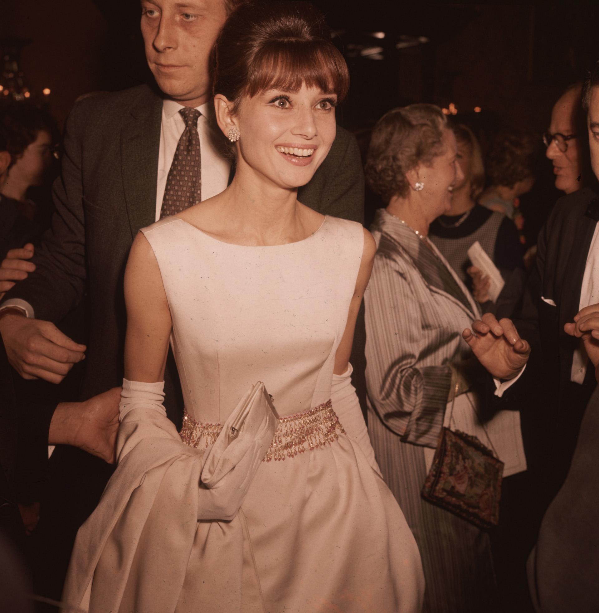 En la gala de los Oscars cuando fue nominada por su papel en otro de sus trabajos más importantes 'My Fair Lady' Fox Photos/Getty Images)