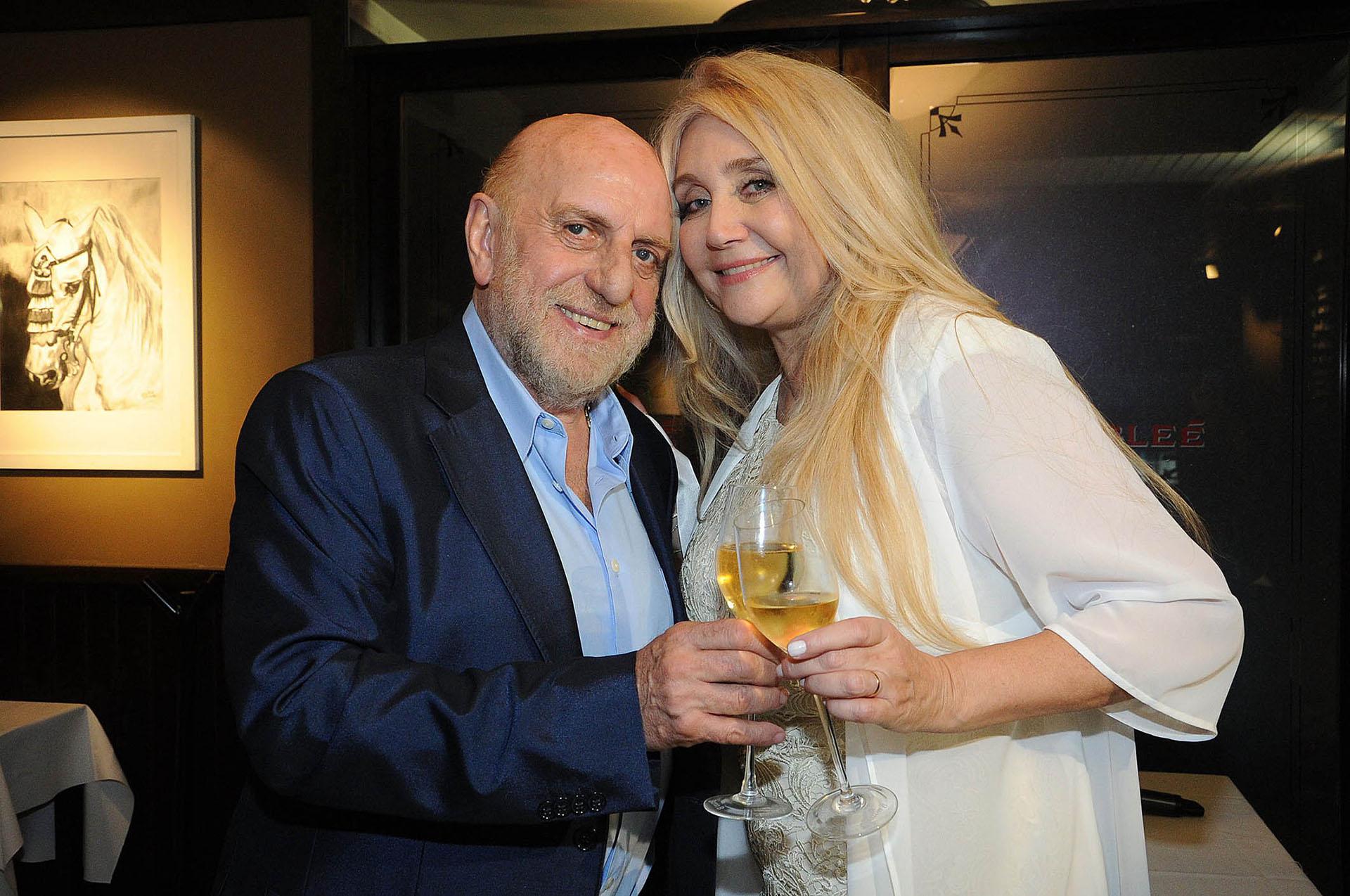 Horacio Pagani y Cecilia Di Carlo llevan doce años de amor
