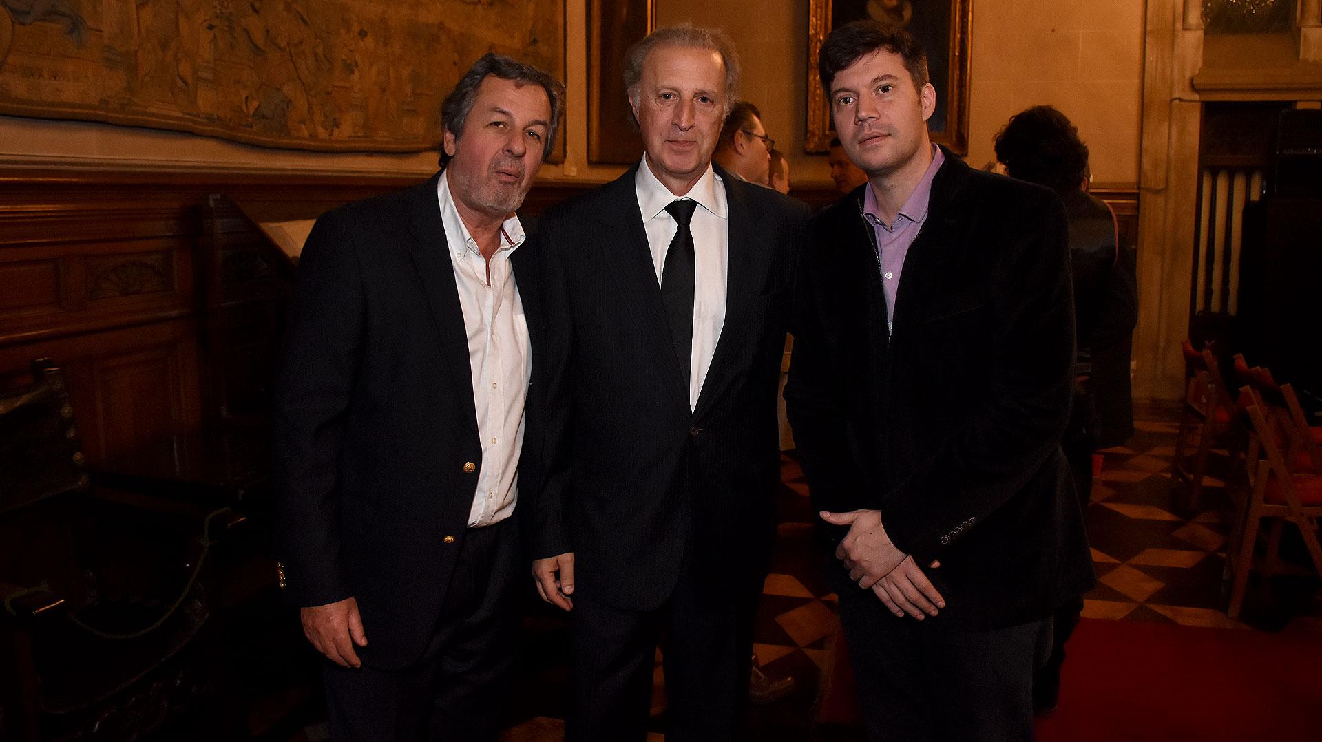 Jorge Porta, Juan Carlos Porras y Guido Valeri