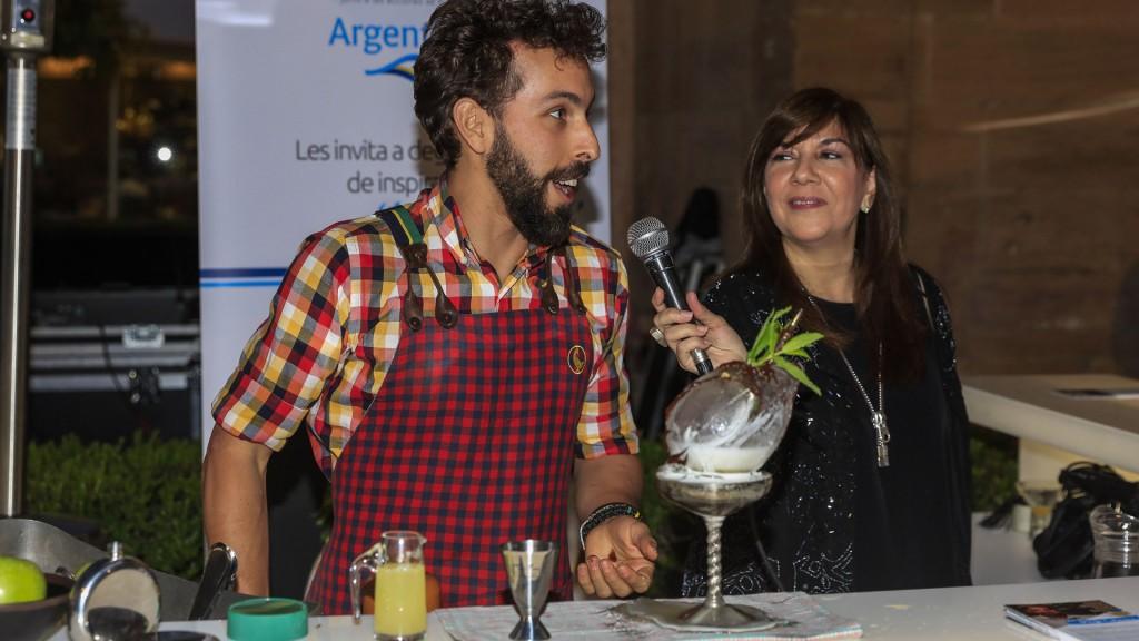 El Cóctel Mate fue una de las estrellas de la presentación argentina en el Gastronomy Festival de Málaga (Mintur/Fernando Sánchez)