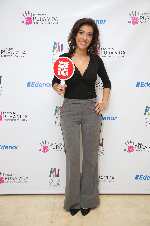 Roxy Vázquez fue una de las que estuvieron presentes en la 3er edición de esta muestra