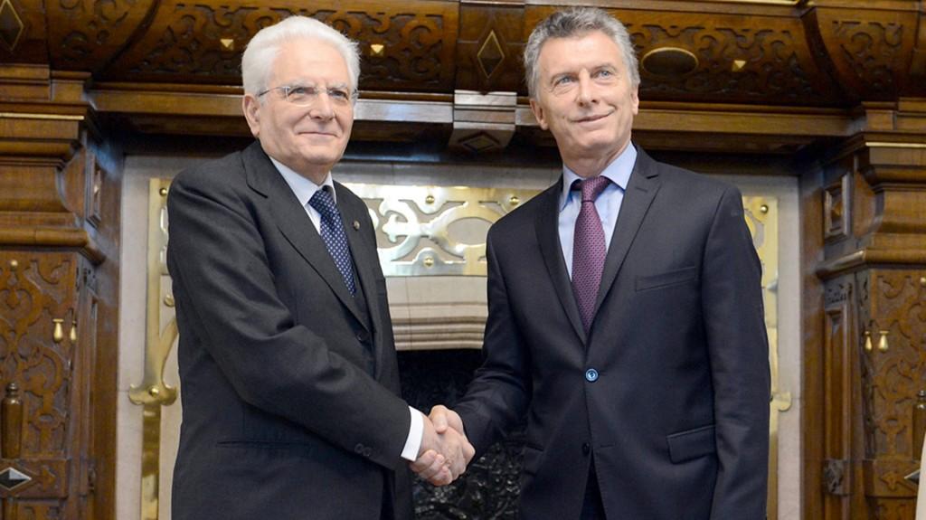 Italia llamó a invertir en Argentina y respaldó el trabajo del gobierno