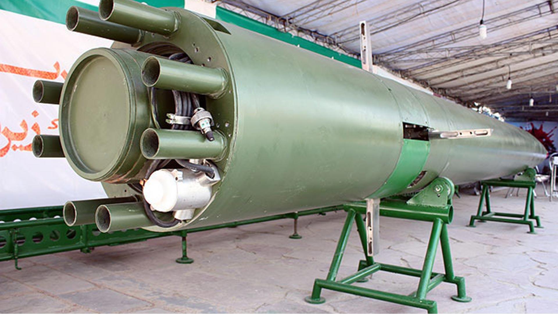 Irán probó un torpedo de alta velocidad — ARGENTINA
