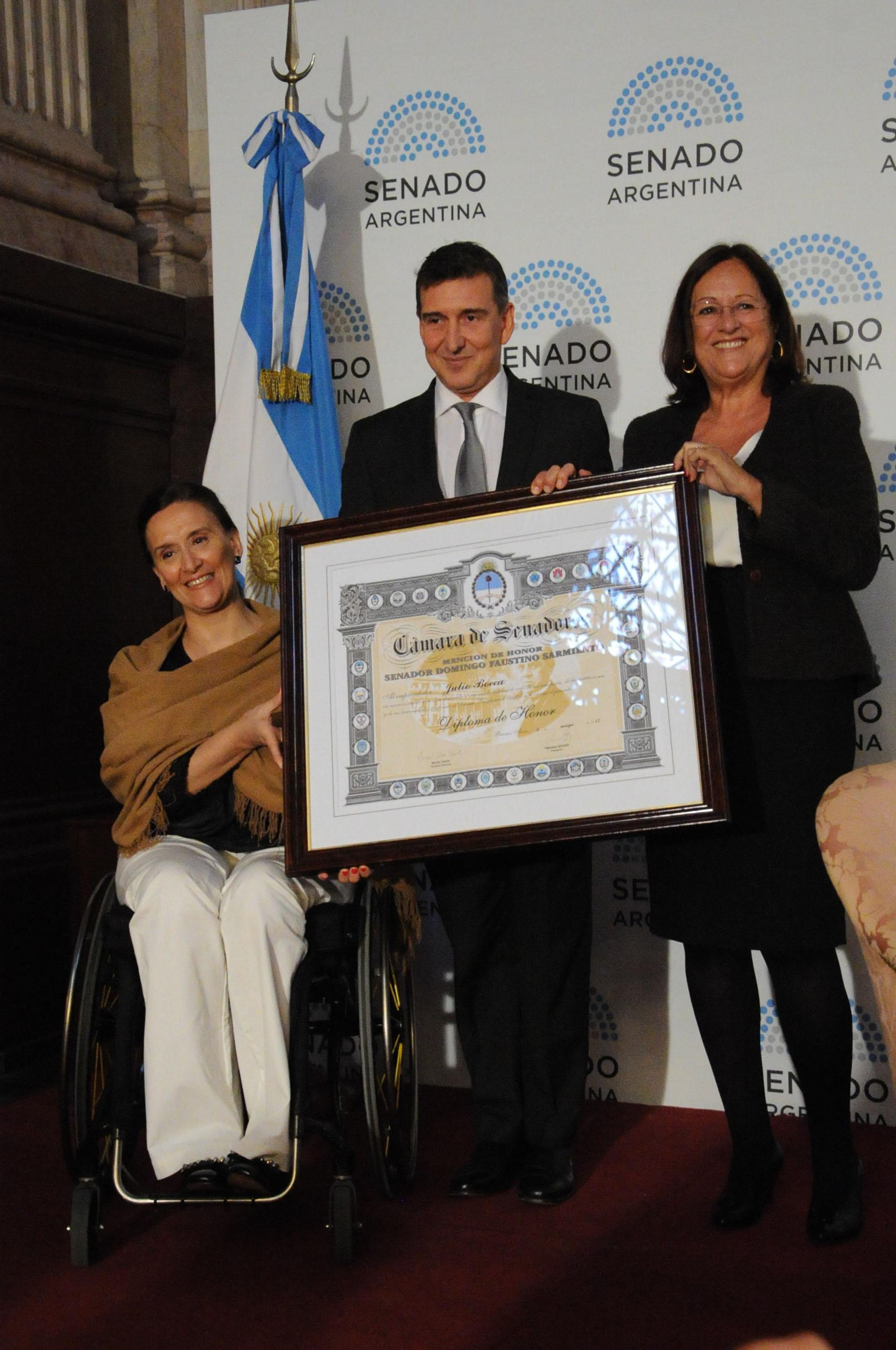 """Gabriela Michetti, aseguró que """"este es un premio 100 por ciento merecido"""""""