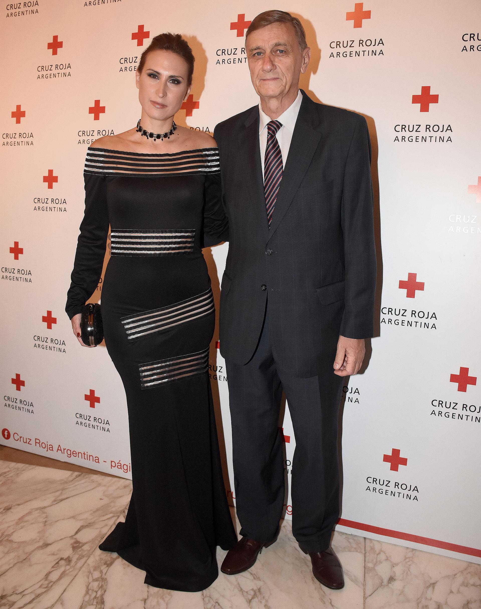Hermes Binner junto a su esposa, Soledad Delgado