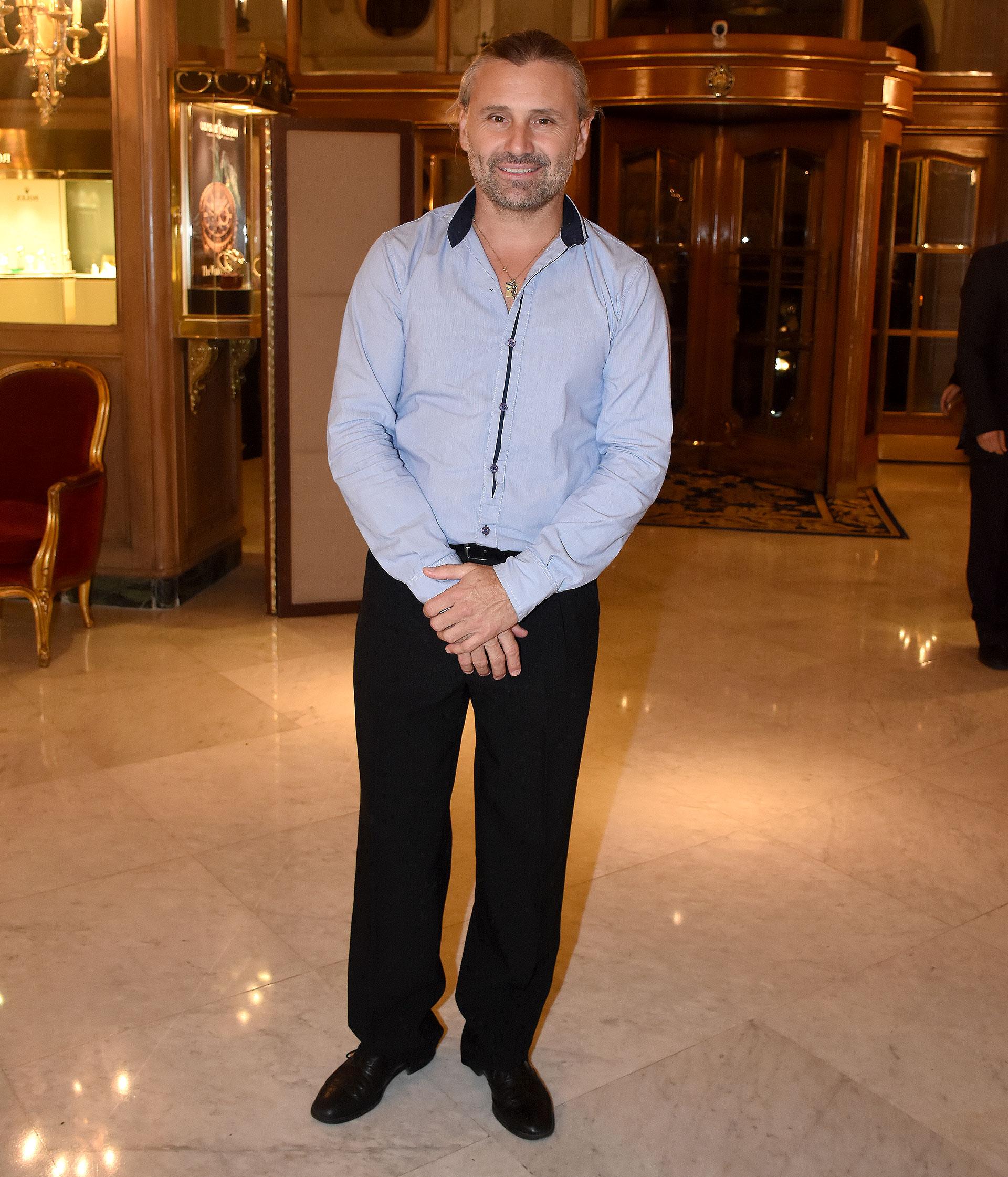 El piloto de automovilismo e integrante del equipo de Daniel Scioli, Marcos Di Palma
