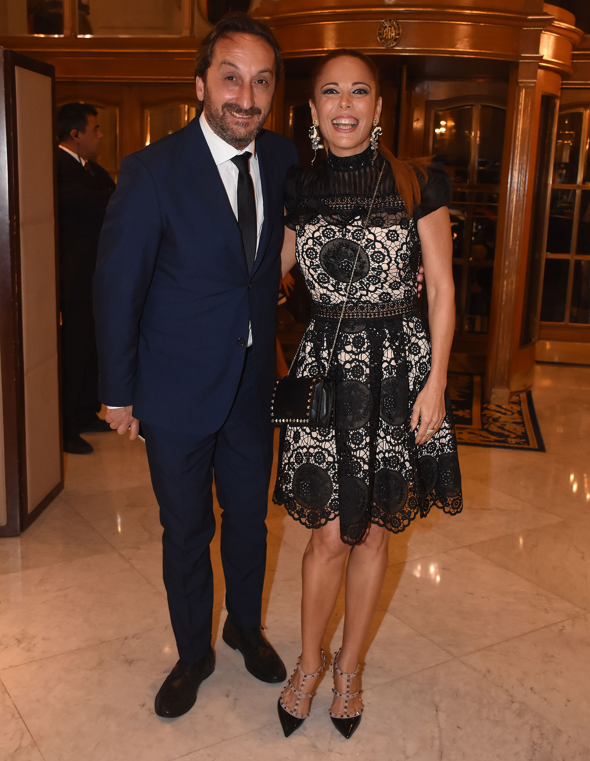Ileana Calabró junto a su pareja, Antonello Gandolfo
