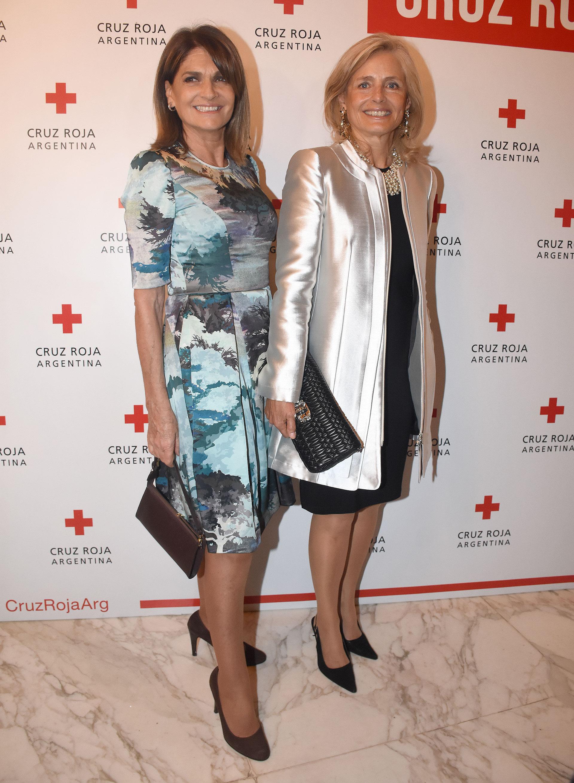 Teresa Calandra junto a Cecilia Zuberbuhler