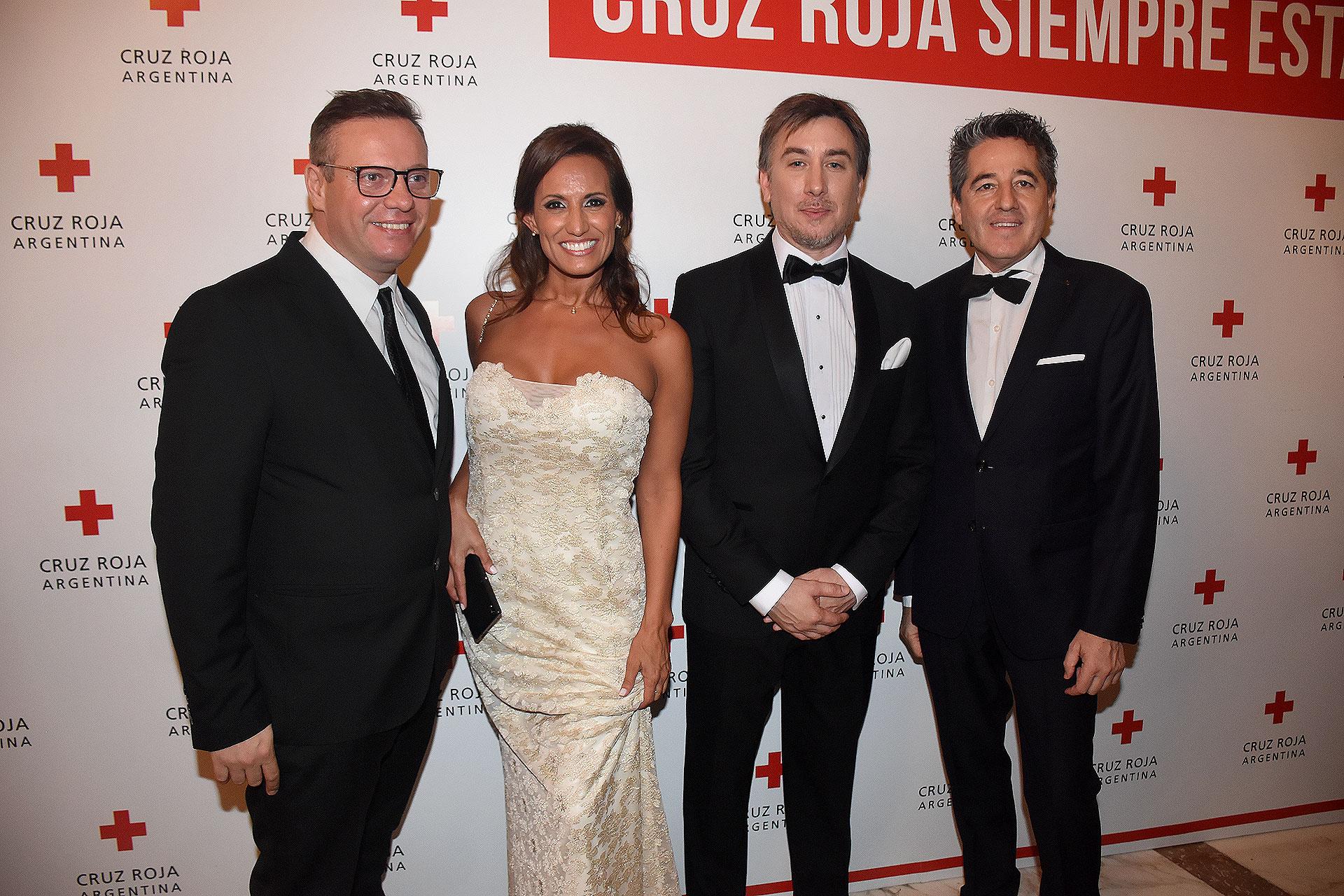 Ernesto Micheluzzi, Nancy Duré, Diego Tipping y Oscar Barboza