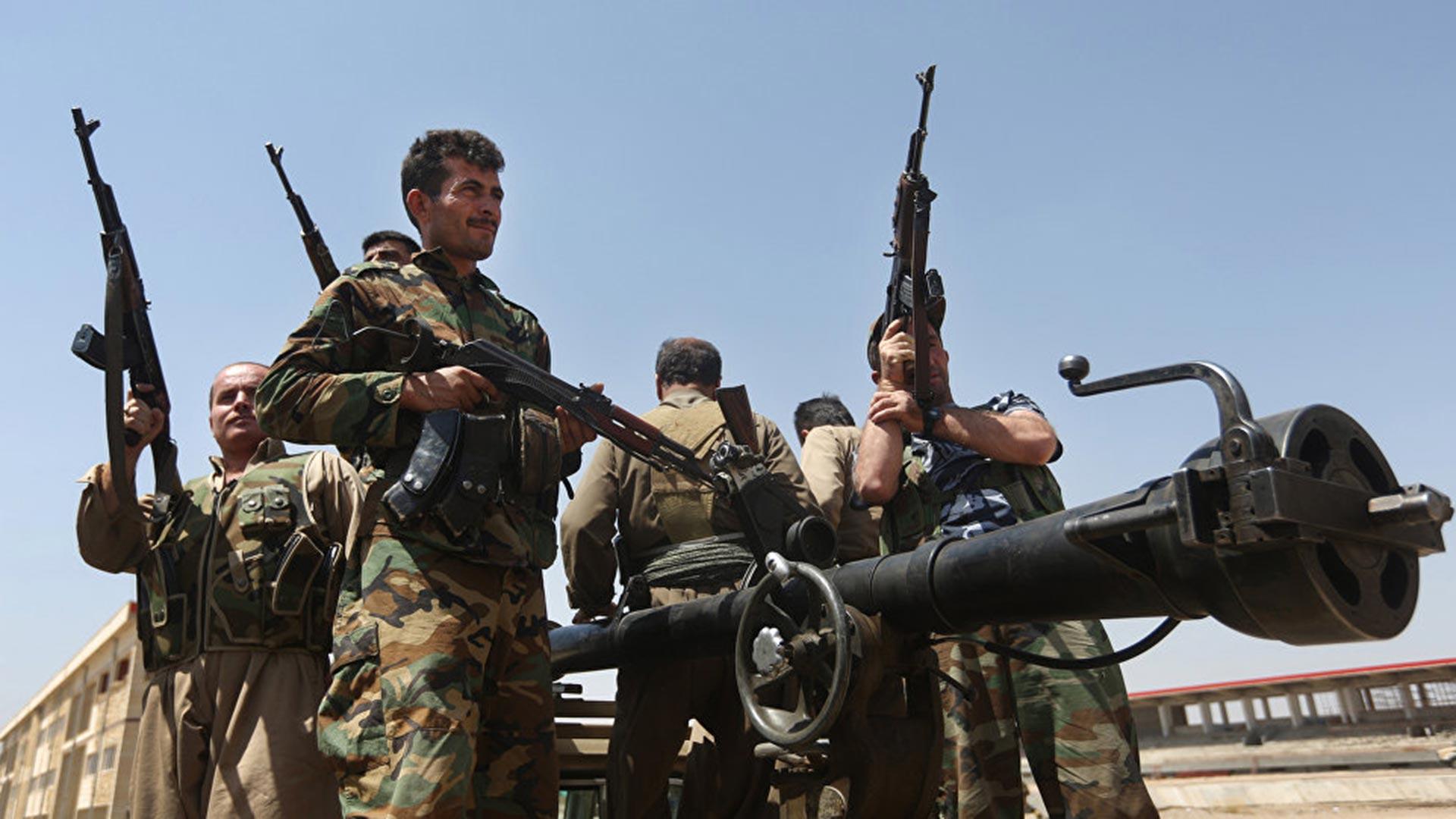 Milicias kurdas en Siria