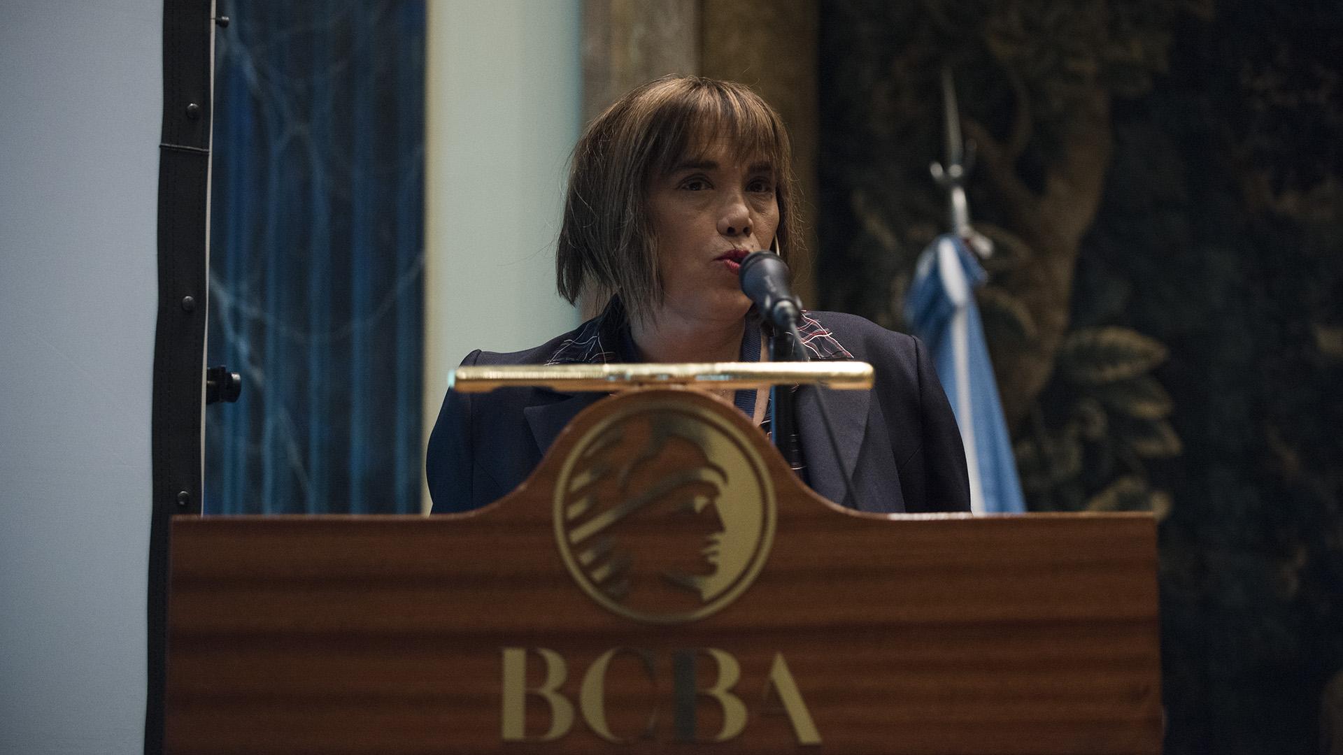 Fabiana Tuñez, presidenta del Consejo Nacional de las Mujeres (Adrián Escandar)