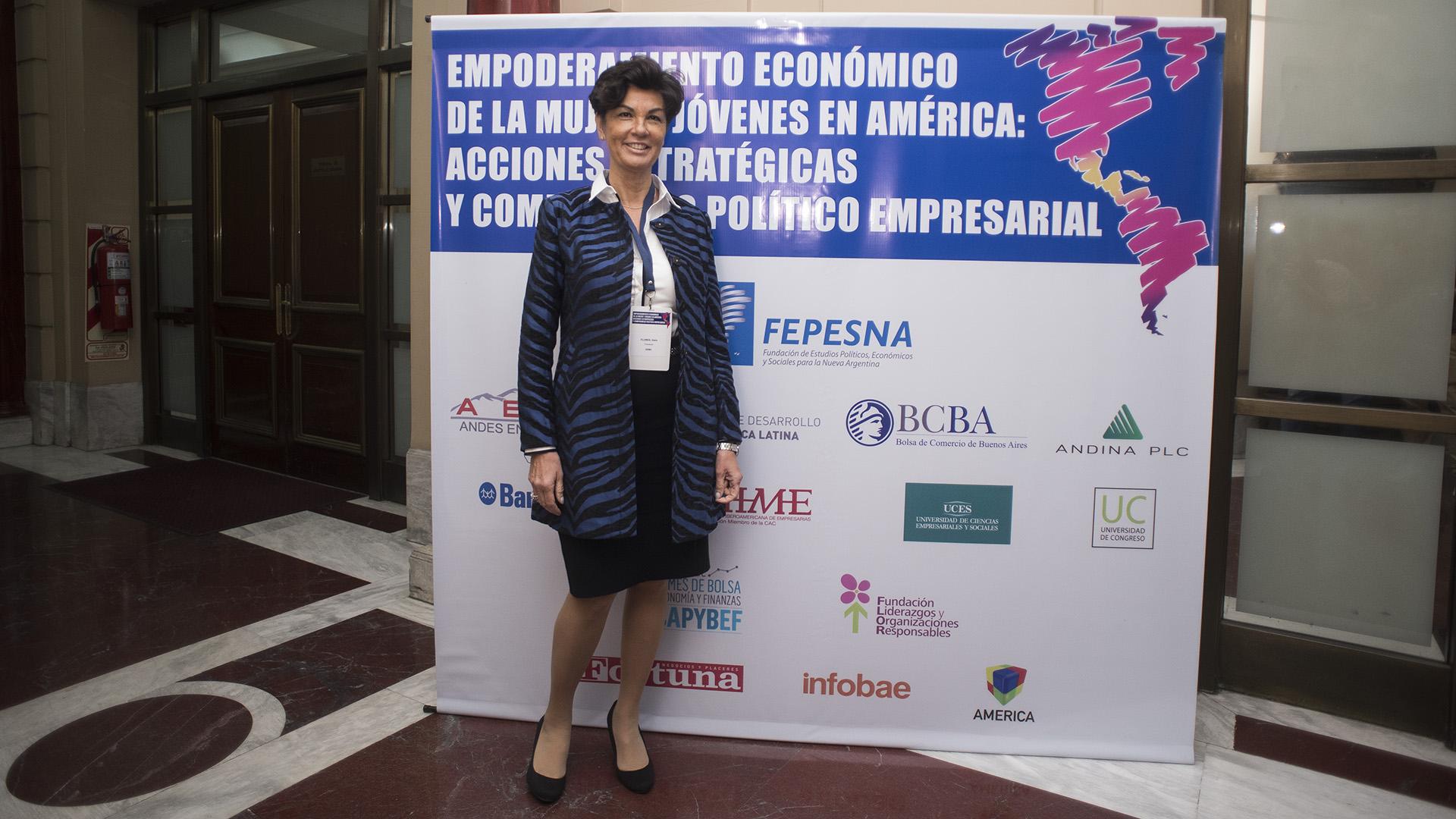 Delia Flores, presidente GEMA (Adrián Escandar)