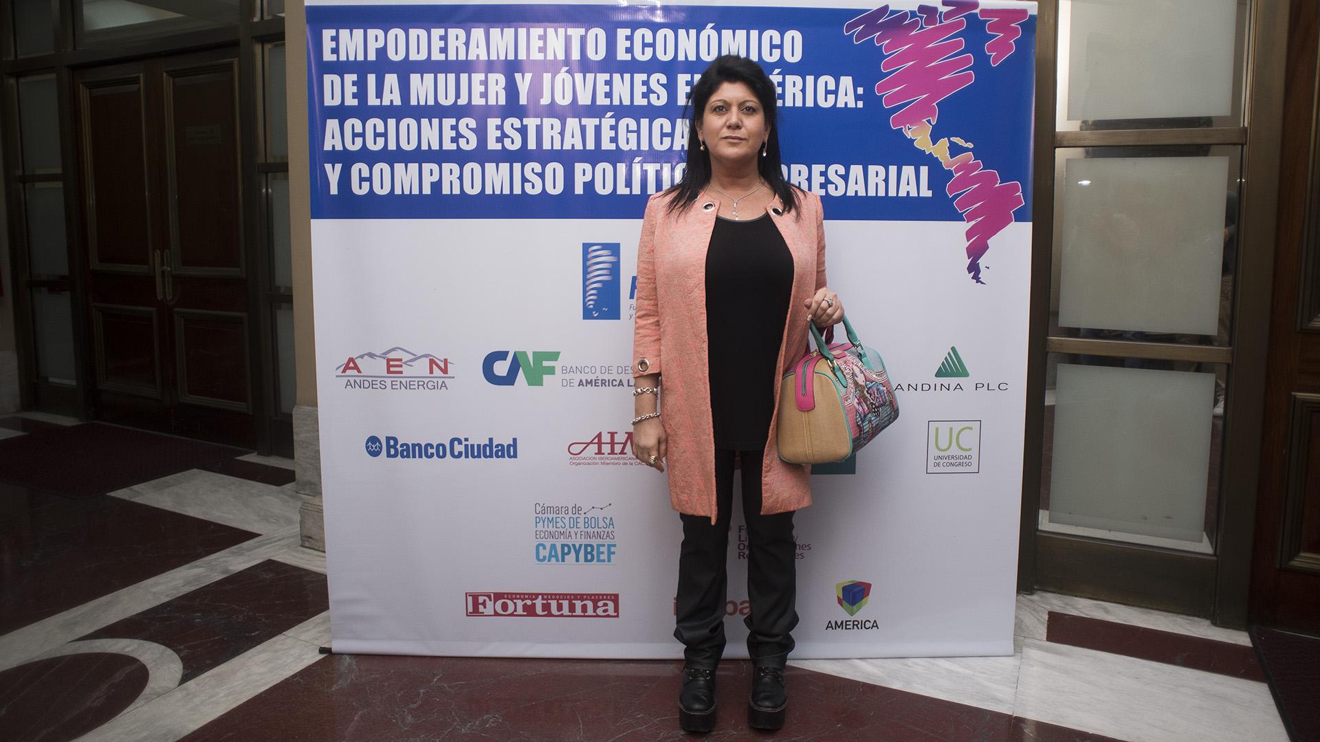 Gabriela Hadad, politóloga (Adrián Escandar)