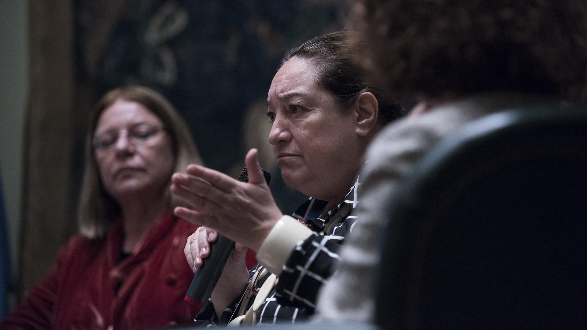 Eugenia Piza López, líder del área de género, centro regional del PNUD para América Latina y el Caribe (Adrián Escandar)
