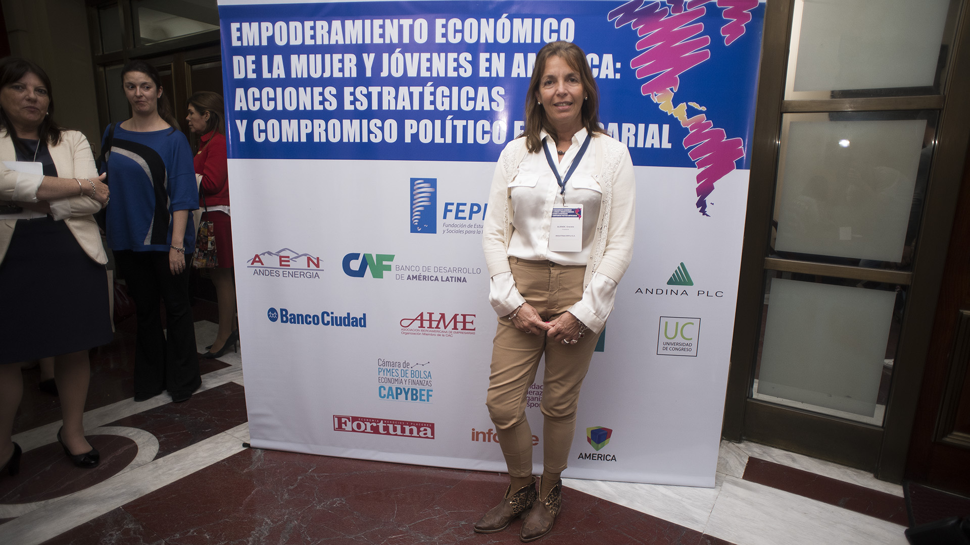 Graciela Aliende, presidente industrias ERPLA S.A (Adrián Escandar)