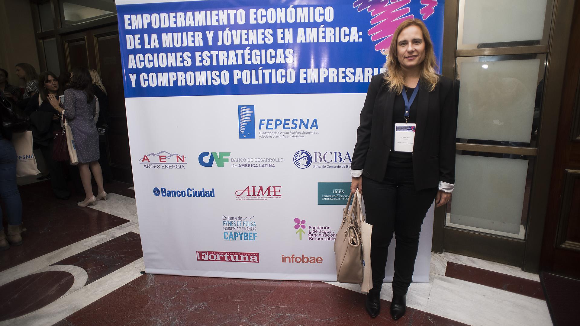 Silvia La Ruffa, presidenta de Centro de Estudios para la Ciudad (Adrián Escandar)