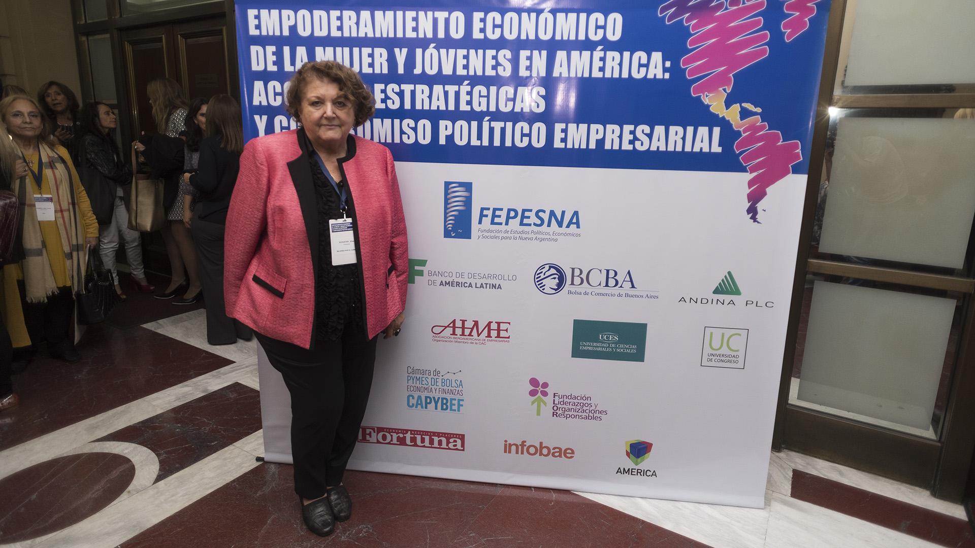 """Elisa Schuster, presidenta """"Mujeres por el Cambio"""" (Adrián Escandar)"""