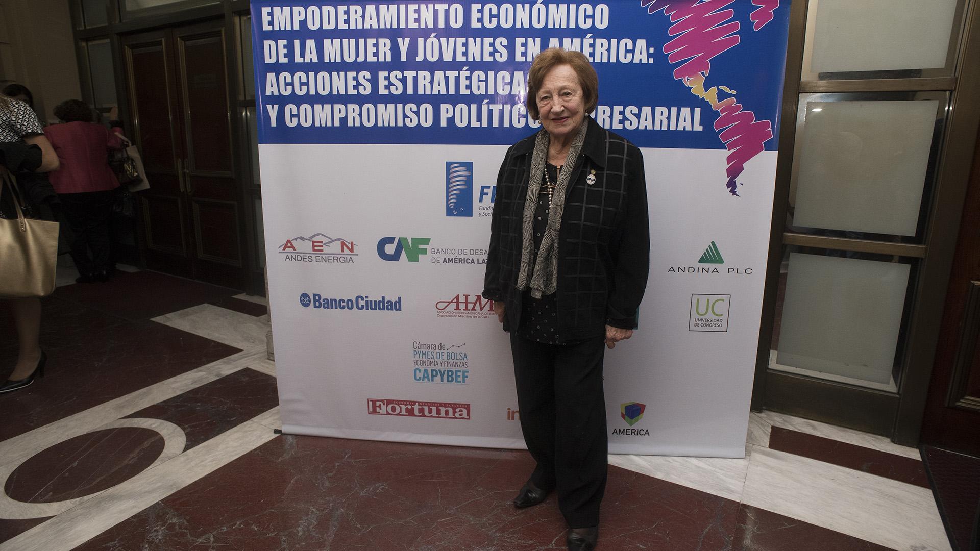 Lidia Sartoris, presidente nacional de la Organización Argentina de Mujeres Empresarias (Adrián Escandar)
