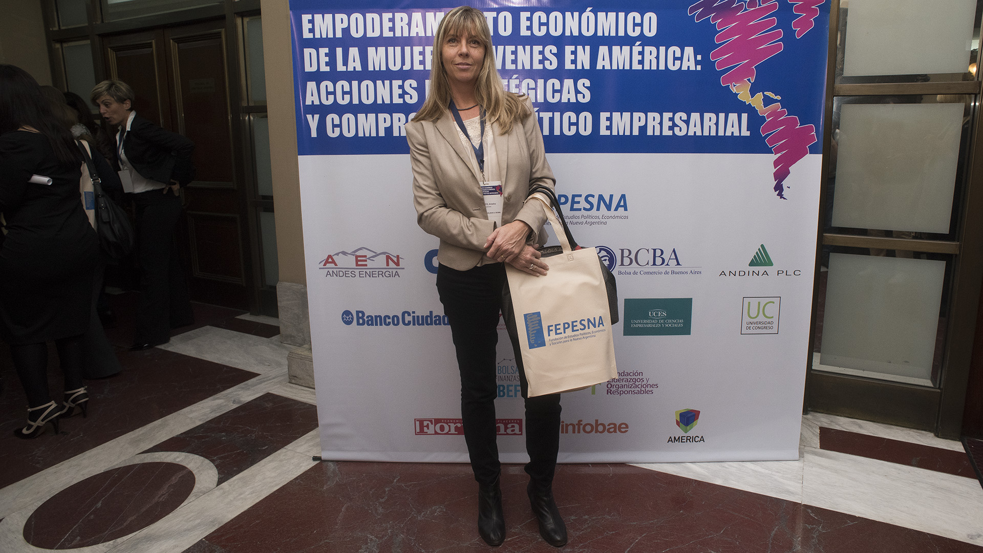 Sofía Kerwitz, sector industrializado Brown (Adrián Escandar)