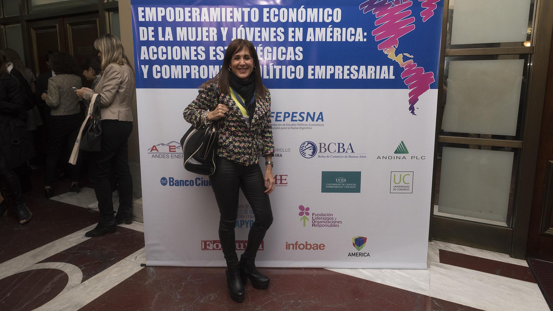 María Cristina Manzano, gerente de relaciones institucionales de Sociedad Rural Argentina (Adrián Escandar)