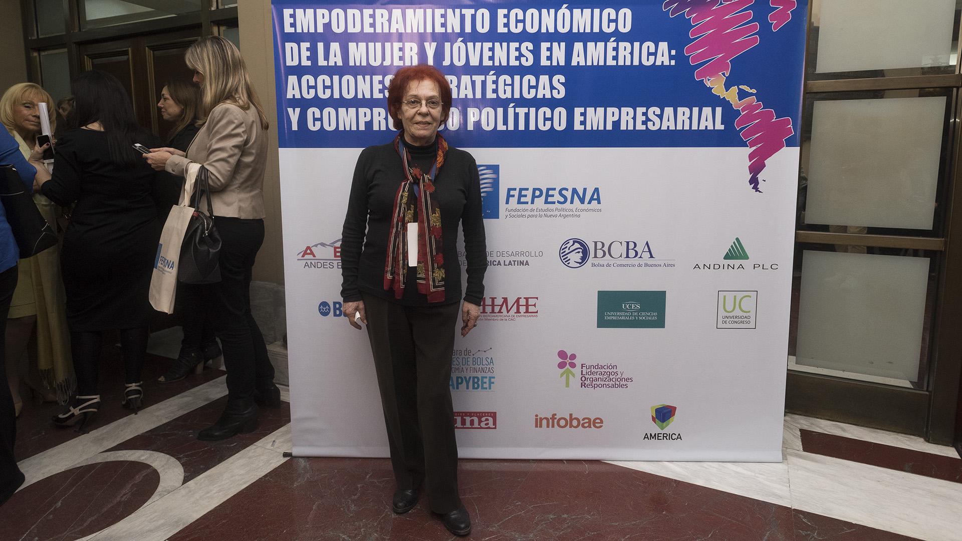 Susana Stilma coordinadora Comisión Equidad de Género -MRECIC (Adrián Escandar)
