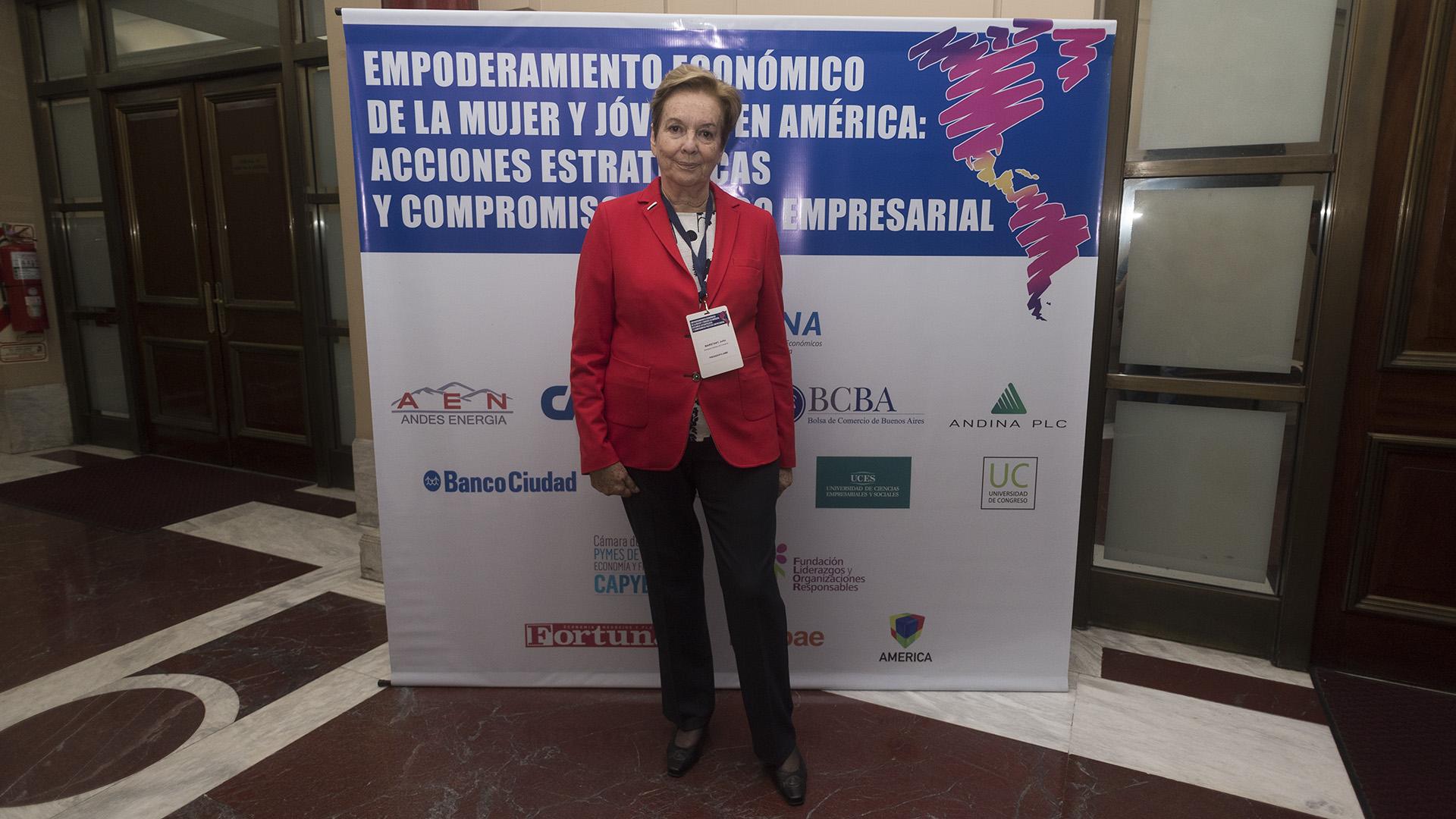 Julita Maristany, directora de comercio presidenta AIME (Adrián Escandar)