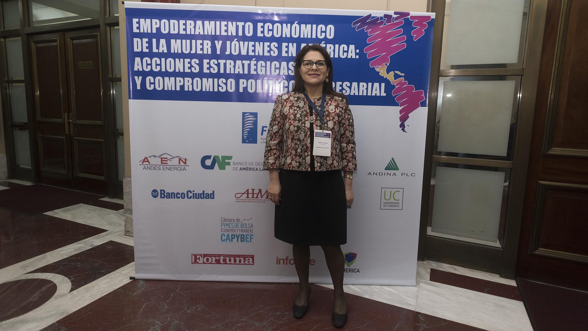 Bernarda Peréz Carillo, Ministerio de la Mujer y la Equidad de Género (Chile) (Adrián Escandar)