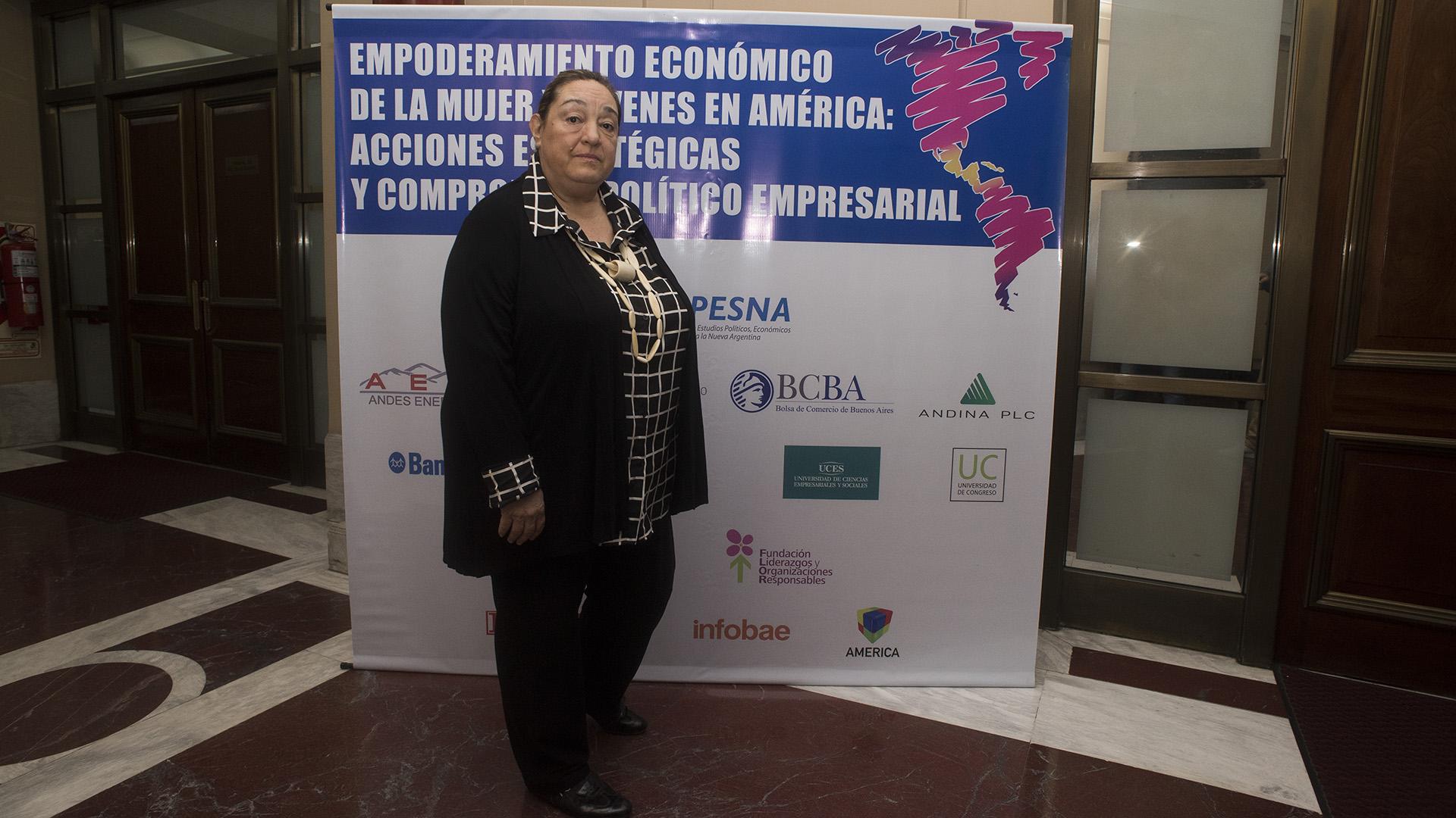Eugenia Piza López, líder del centro regional de Panamá PNUD (Adrián Escandar)