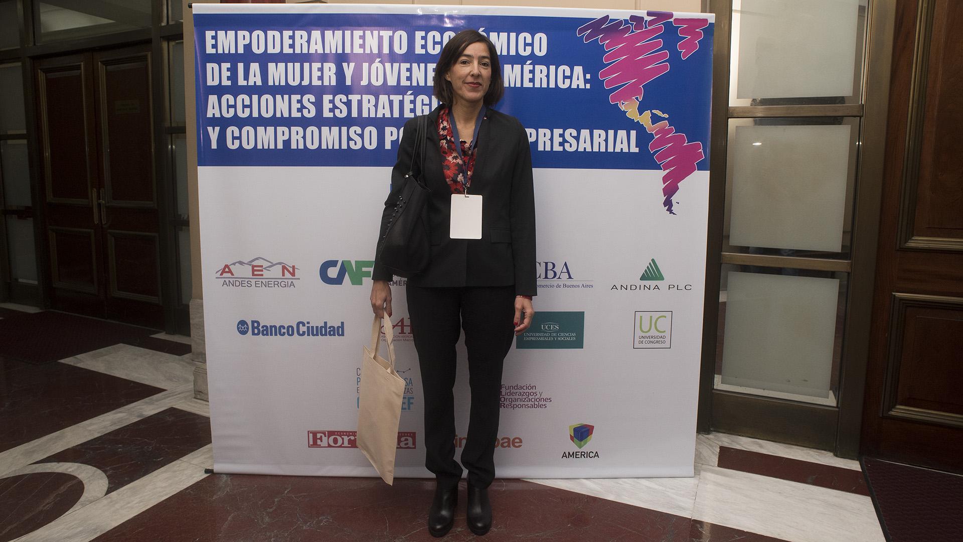 Clara Navarro Viola, consejera de Bolsa de Comercio de Buenos Aires (Adrián Escandar)