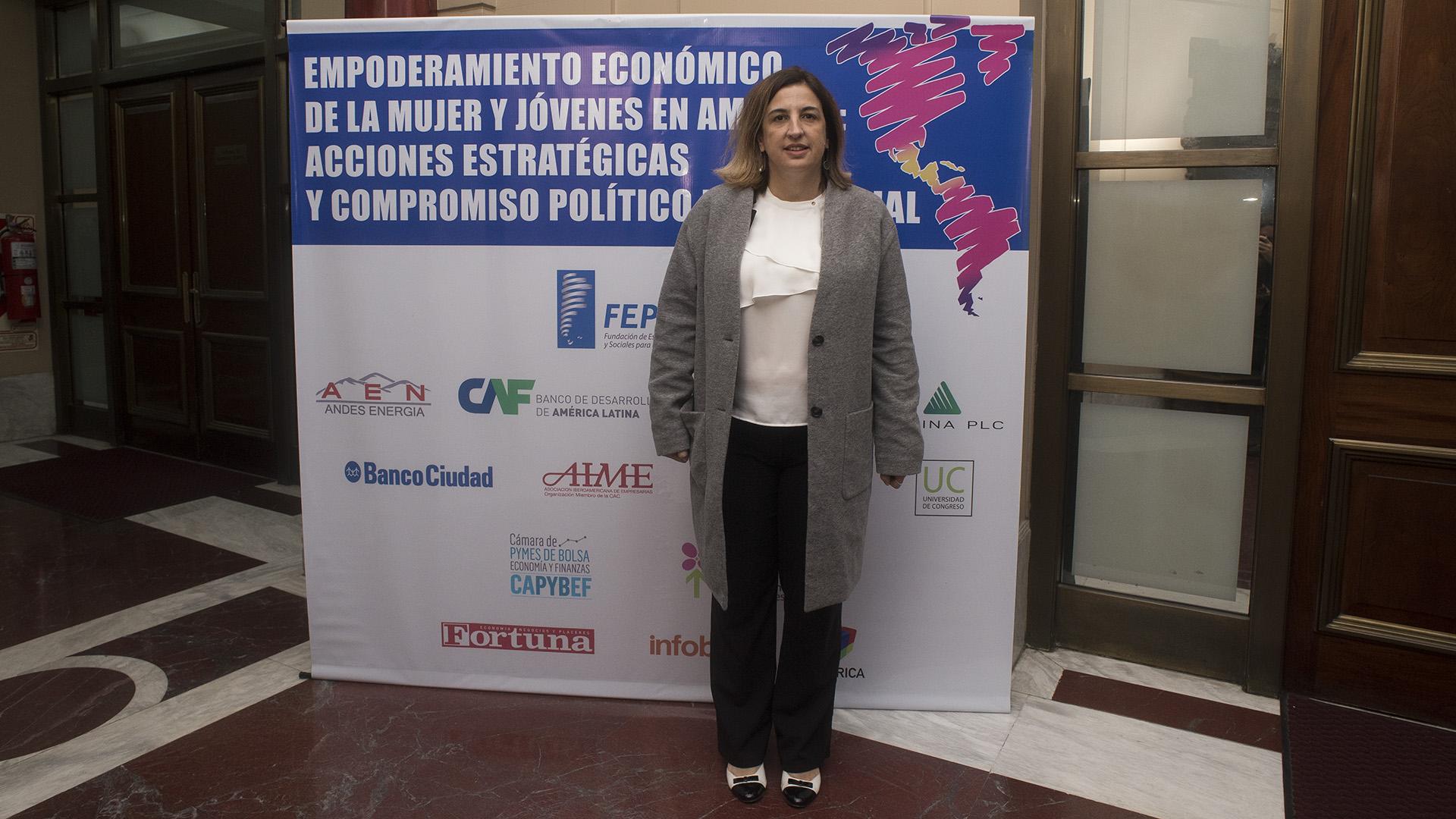 Claudia Neira, directora Banco Ciudad de Buenos Aires (Adrián Escandar)