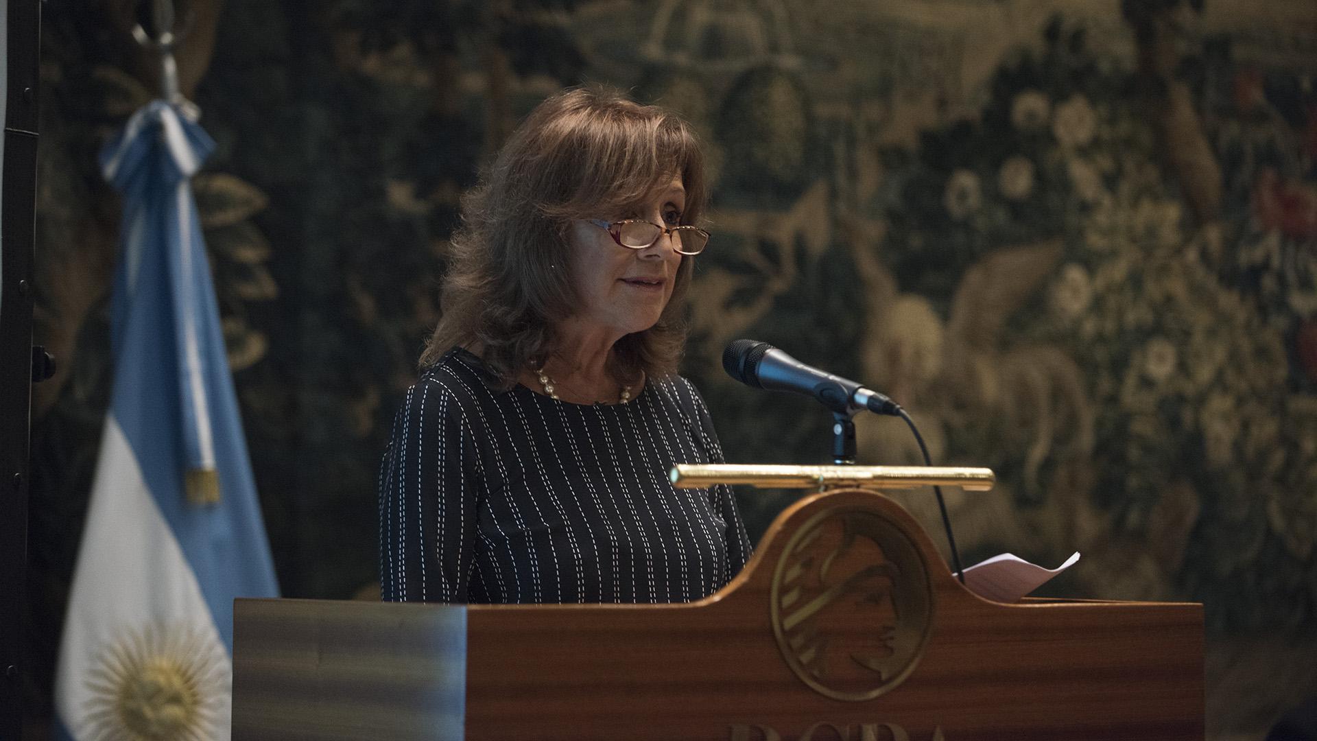 Laura Velázquez, presidenta FEPESNA (Adrián Escandar)