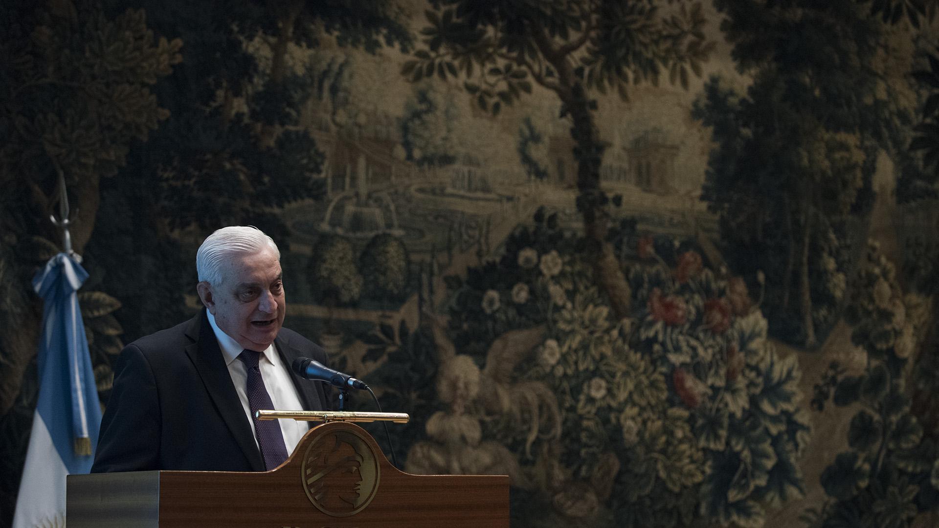 Adelmo Gabbi, presidente de la bolsa de comercio de Buenos Aires (Adrián Escandar)