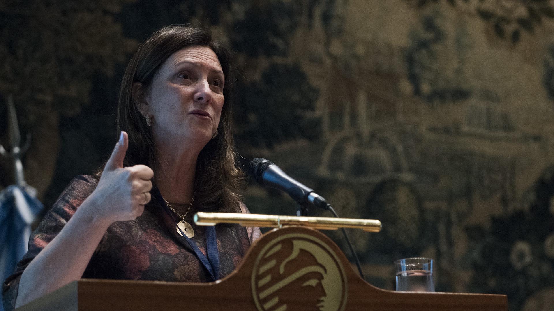 Luiza Carvalho se incorporó a la ONU Mujeres como directora regional para las Américas y el Caribe en 2014 (Adrián Escandar)