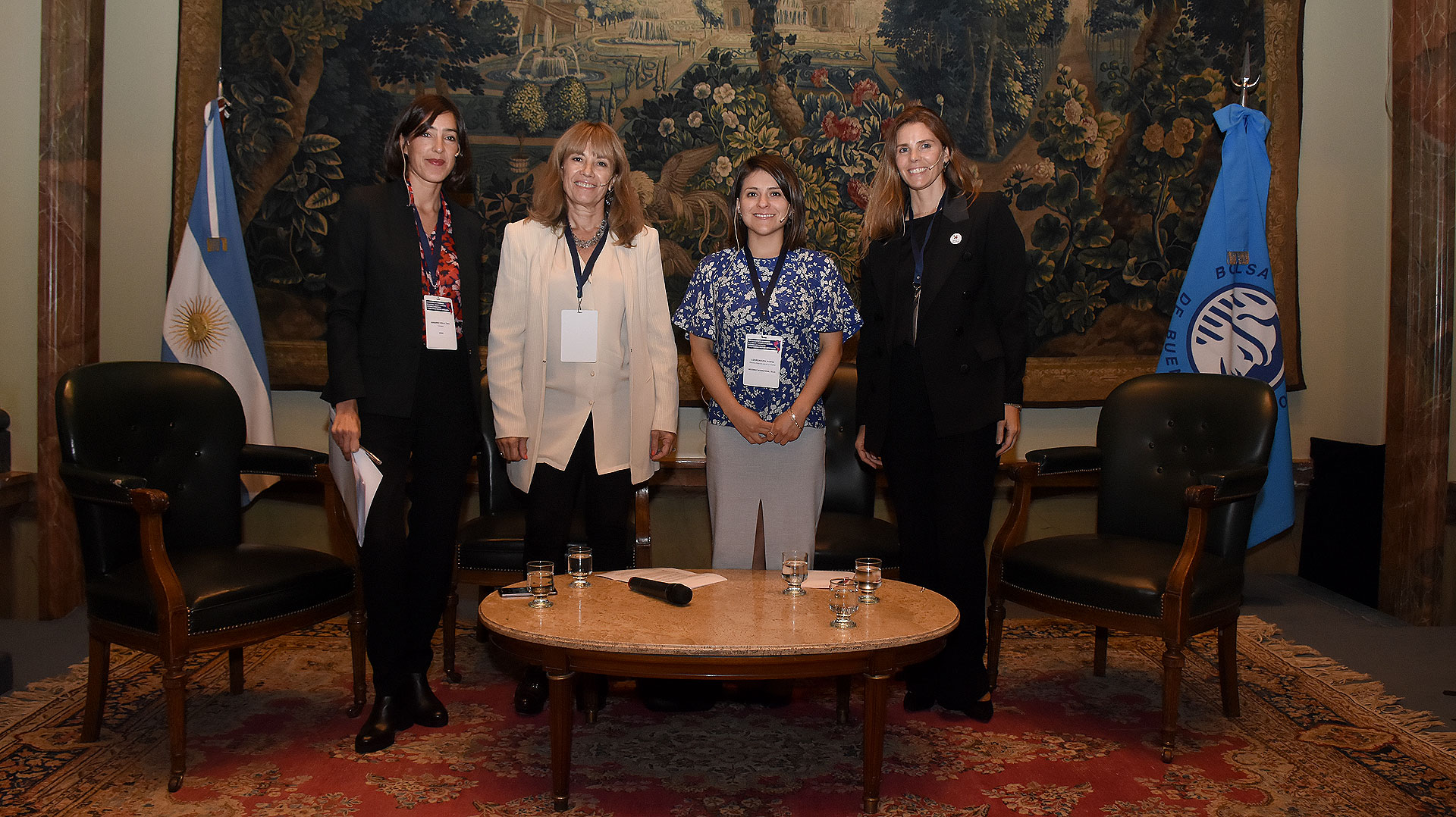 """El panel """"Networking: Mujeres Interconectadas e Innovadoras"""" (Nicolás Stulberg)"""