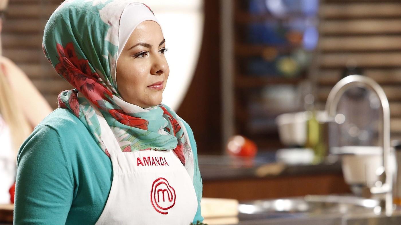 Mientras participó de MasterChef, en la sexta temporada, Amanda Saab se convirtió en un símbolo