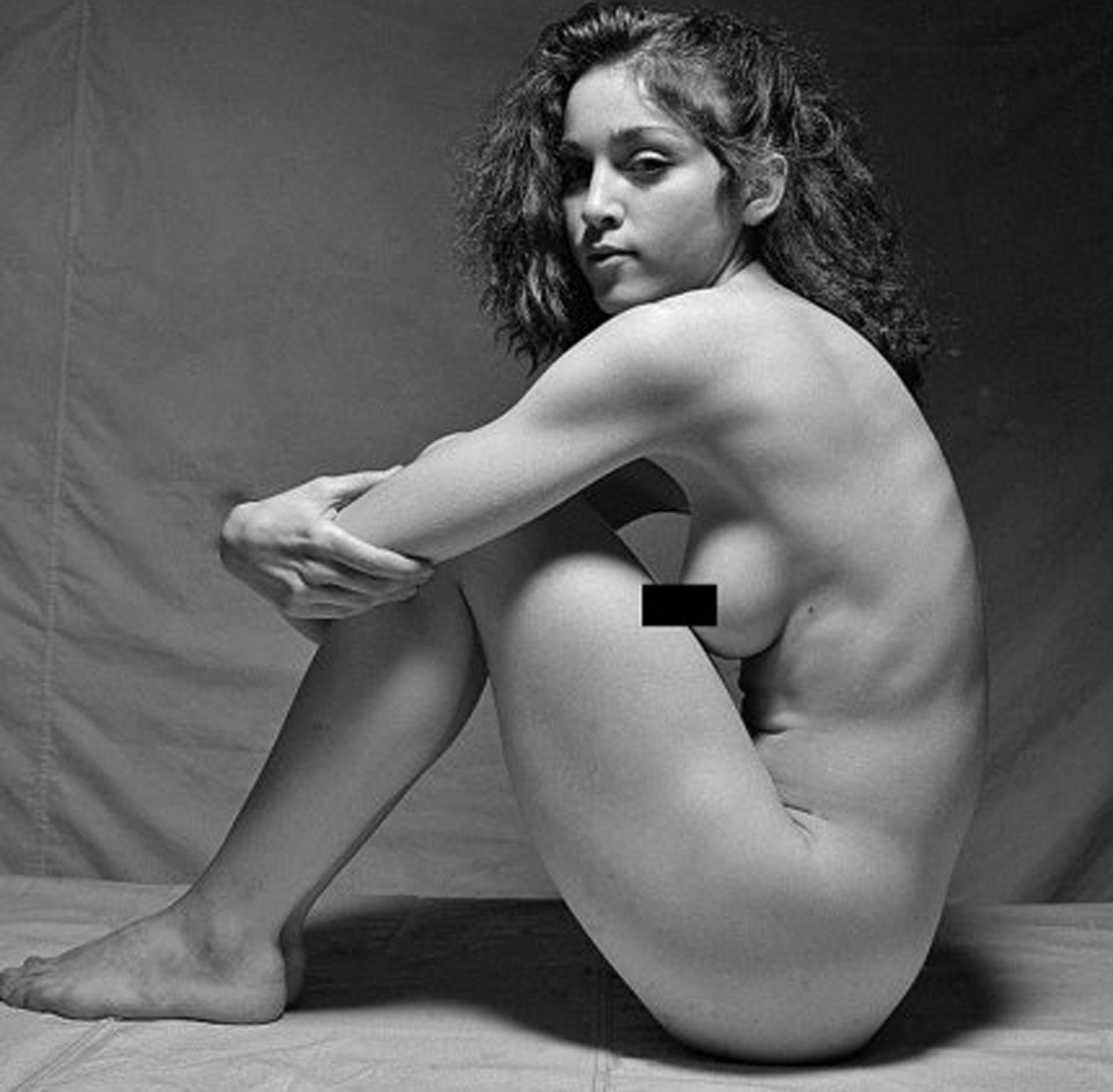 Sin tapujos, a los 18 años posó desnuda
