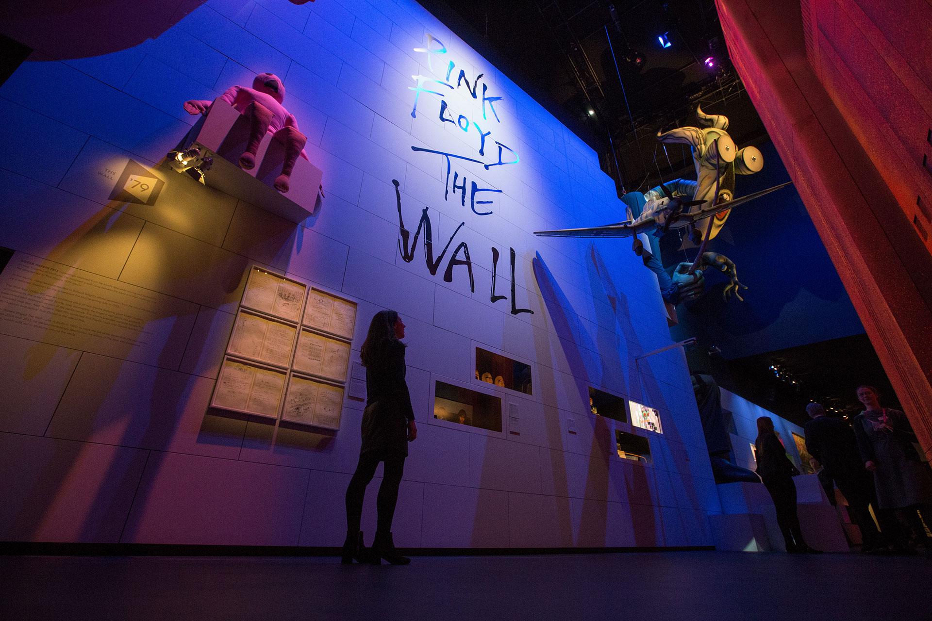 """Presentación del disco """"The Wall"""" (AFP)"""