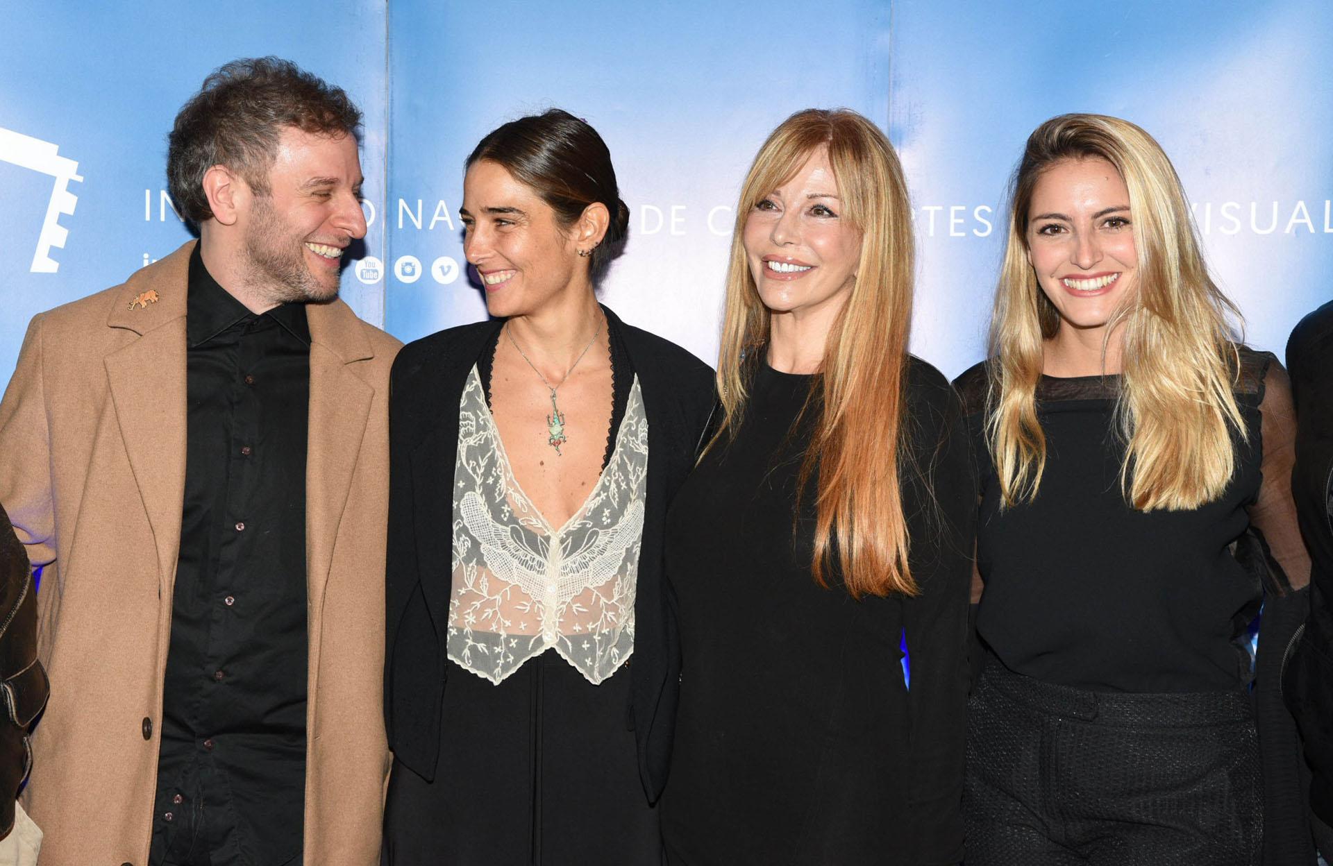 Diego Gentile, Juana Viale, Graciela Alfano y Valentina Frione