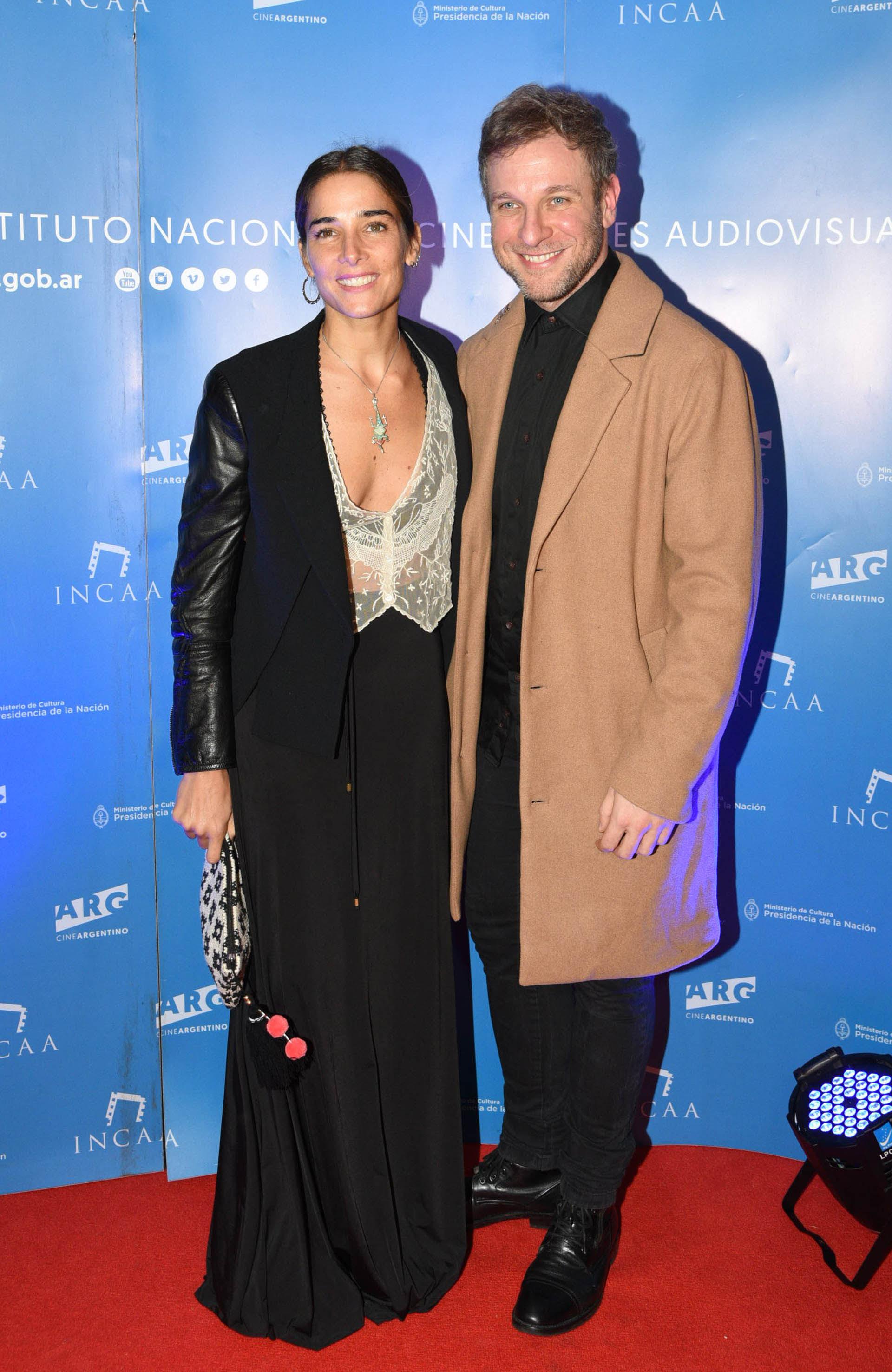 Juana Viale y Diego Gentile