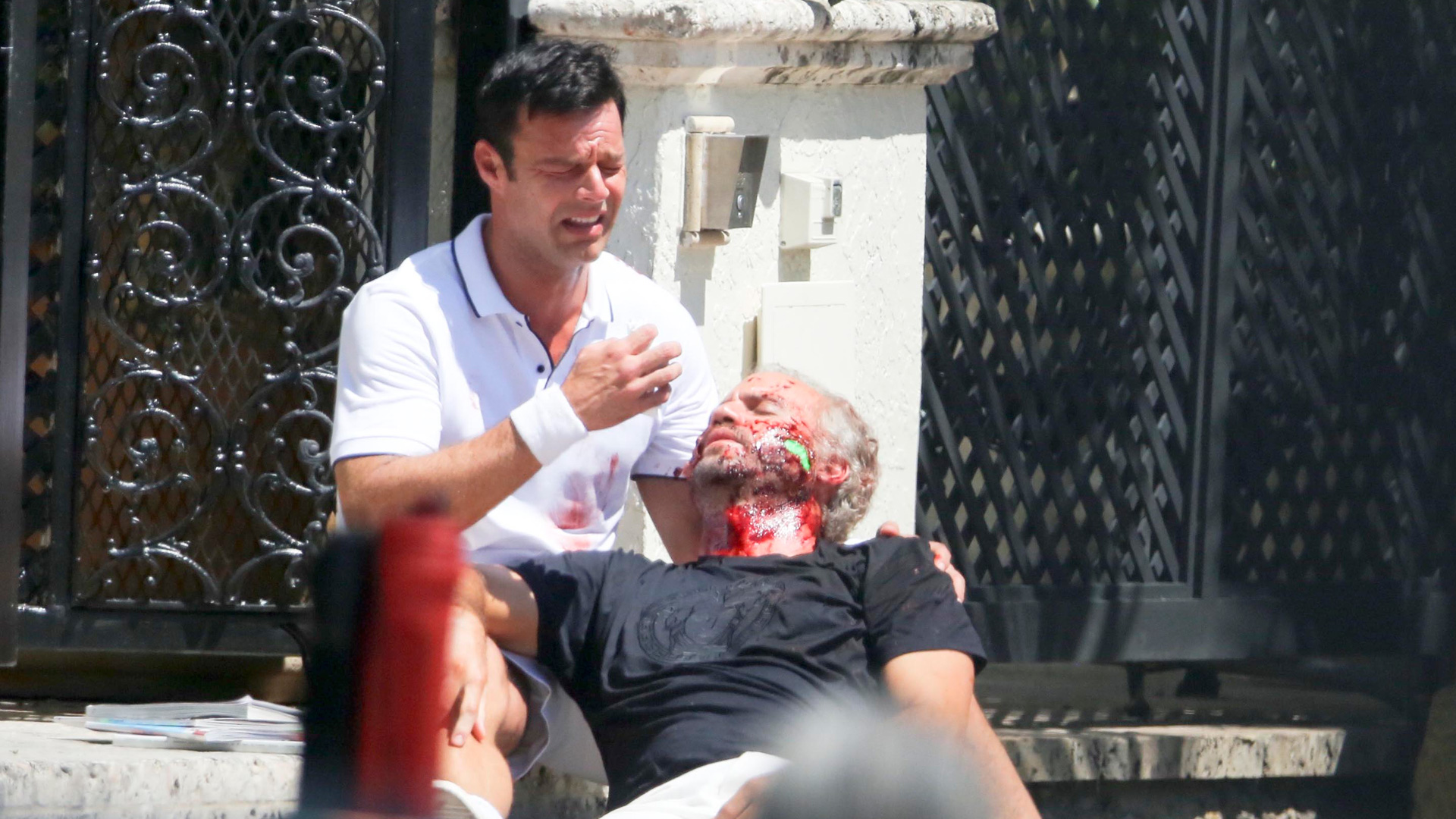 Ricky Martin encarna a Antonio D'Amico en The Assassination of Gianni Versace: American Crime STORY