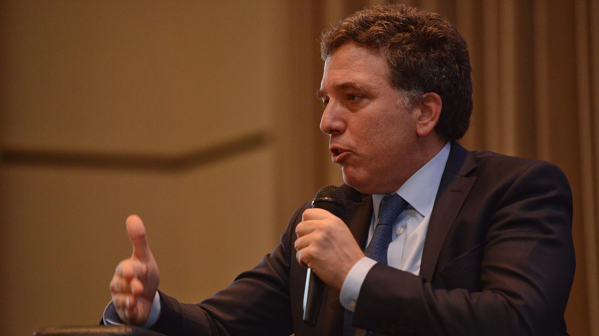 El ministro de Hacienda,Nicolás Dujovne, trabaja en una propuesta de reforma tributaria (Presidencia)