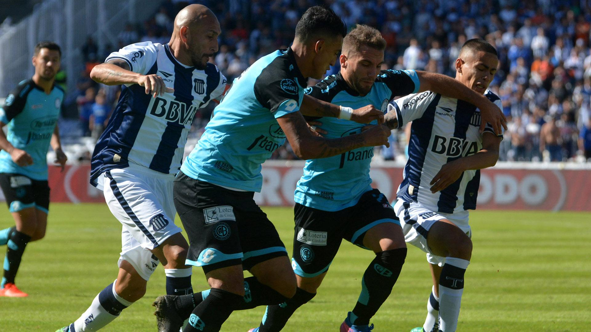 El primer clásico en la historia de la Superliga tendrá lugar en Córdoba (Telam)