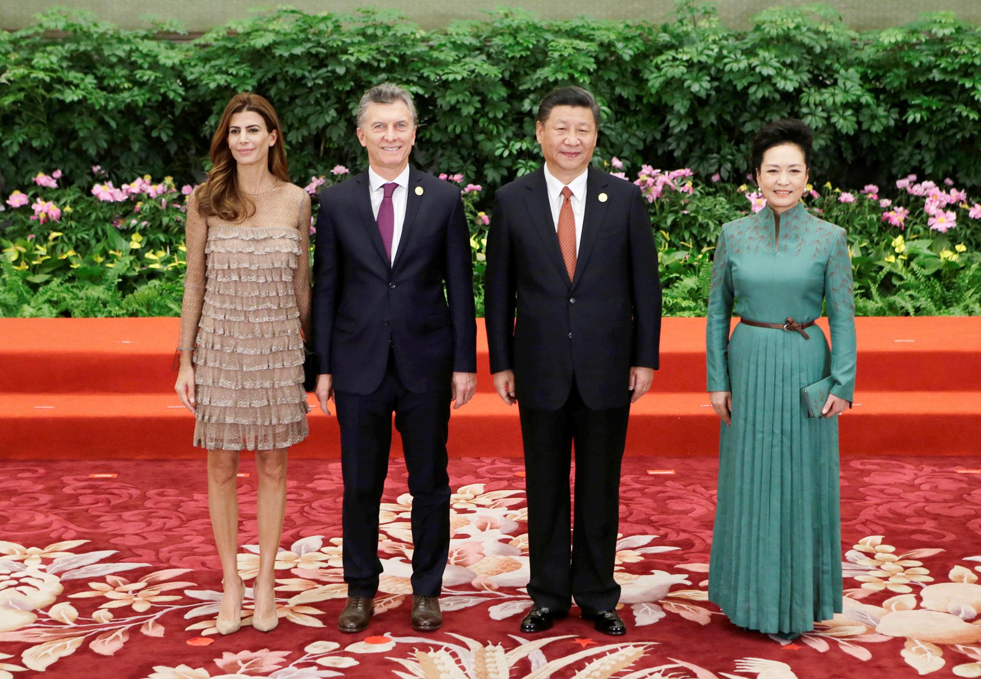Macri en China:
