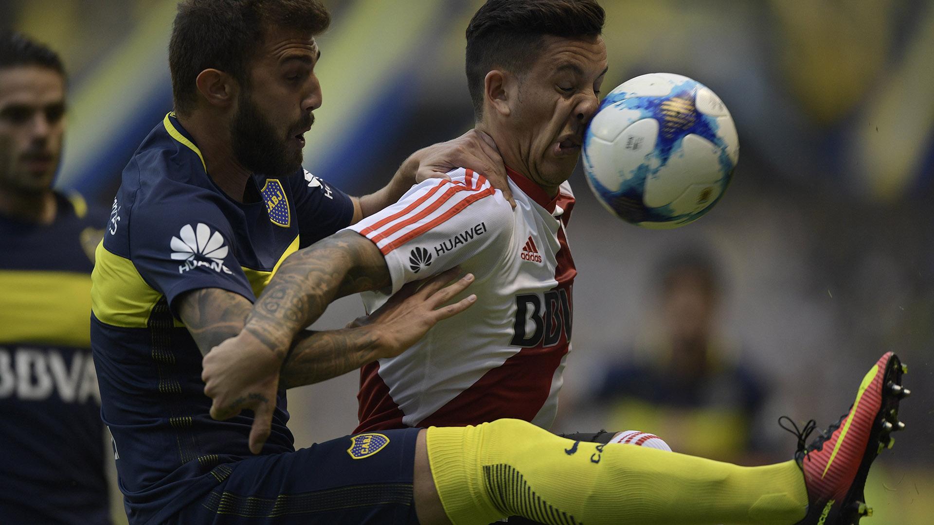 A los 14 minutos del primer tiempo, el club de Núñez se puso en ventaja
