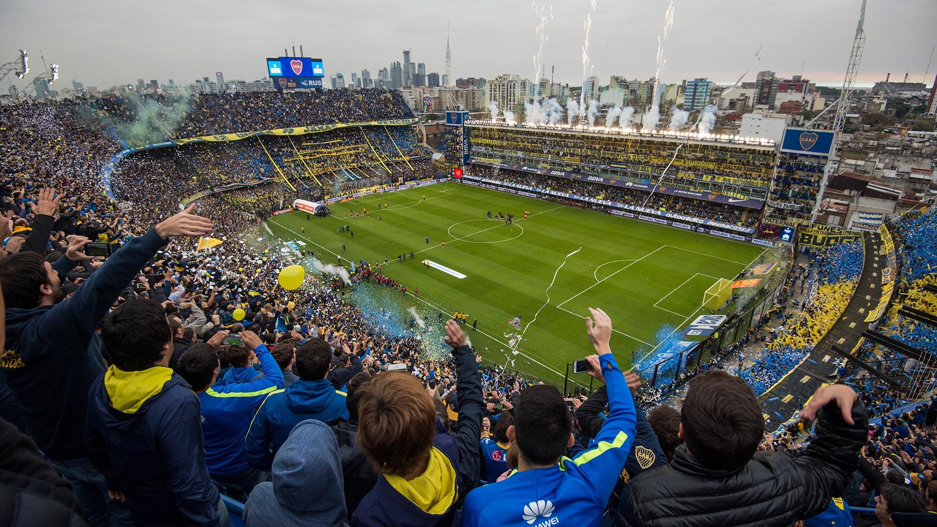 River y Boca se enfrentaron en la Bombonera por la 24º fecha del torneo de primera división argentino