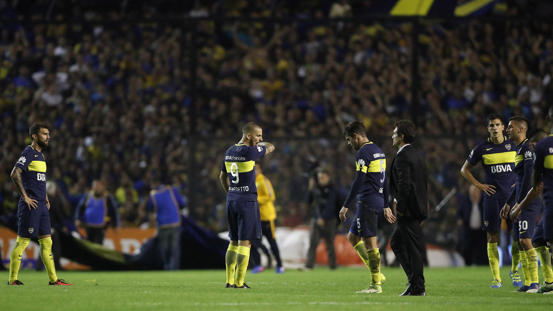 Boca Juniors conserva la punta, a tres puntos de San Lorenzo y cuatro de River (con un partido menos), cuando faltan seis fechaspara el fin del campeonato