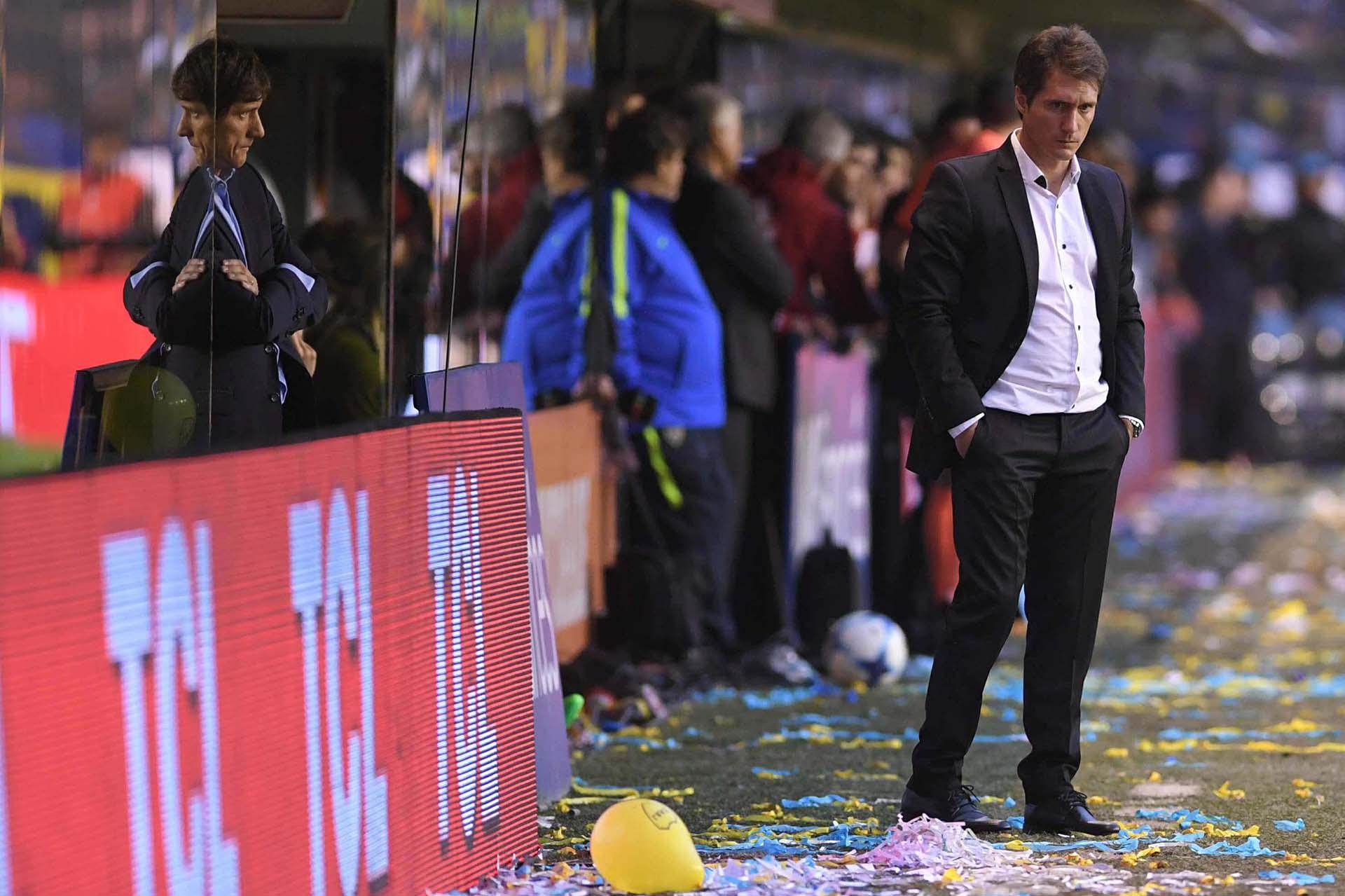 """Luego del encuentro, Guillermo Barros Schelotto dijo: """"No hay excusas para esta derrota"""""""