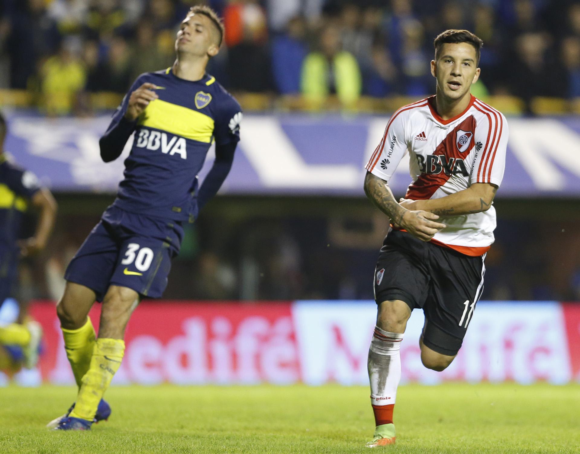 Gol de River: Sebastian Driussipuso el marcador 3-1 para que el Millonario se quedara con el Superclásico