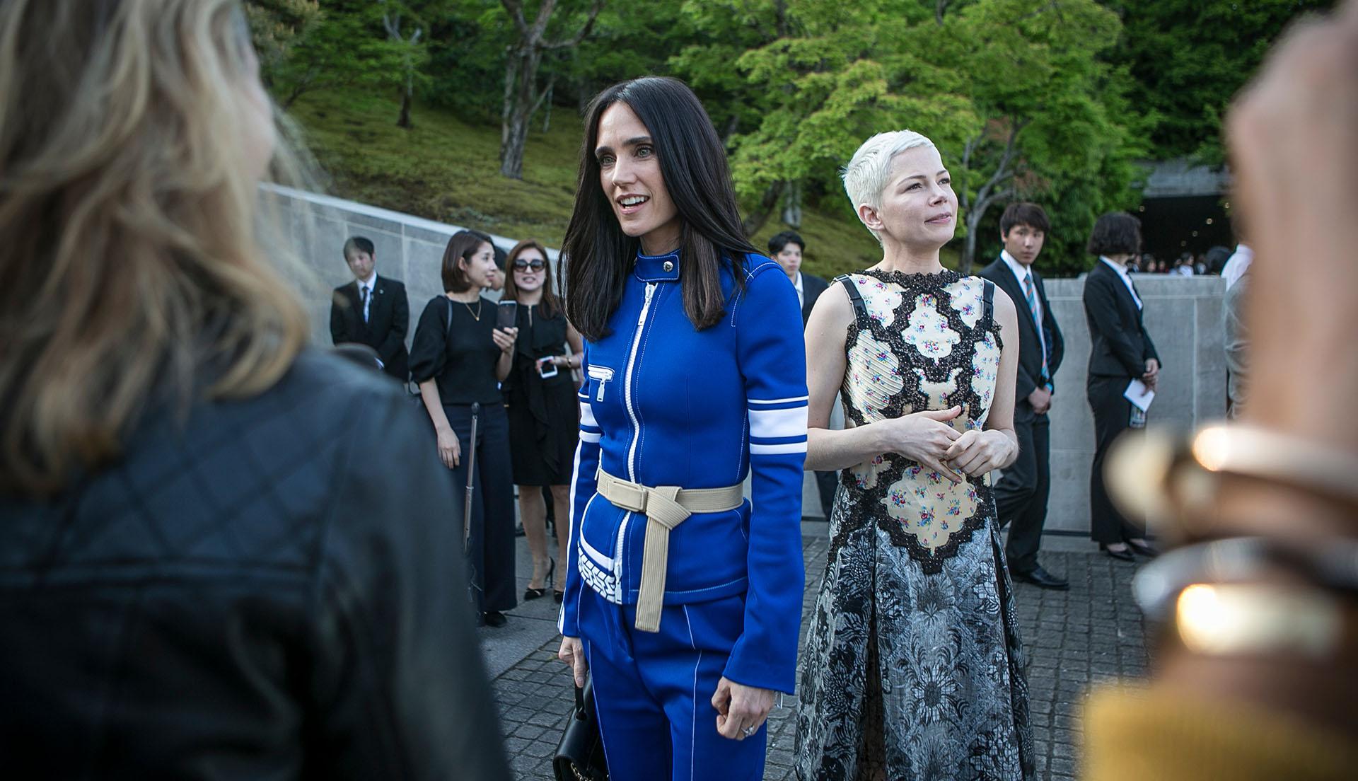 Jennifer Connelly y Michelle Williams, musas de lujo en la primera fila del gran espectáculo de la moda ( Getty Images)