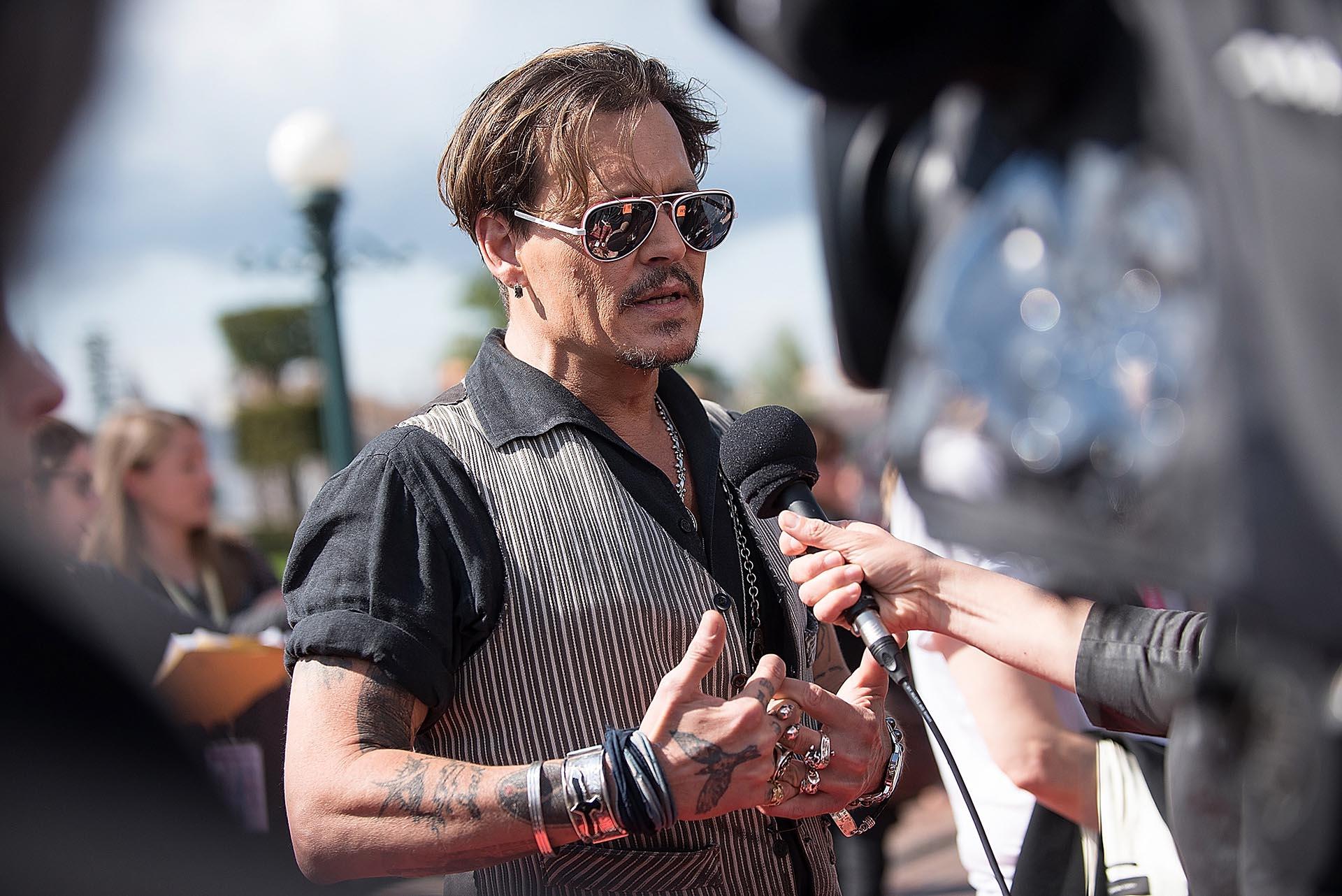 Johnny Depp atendió a la prensa internacional y contó sus grandes expectativas para esta quinta película de Piratas del Caribe